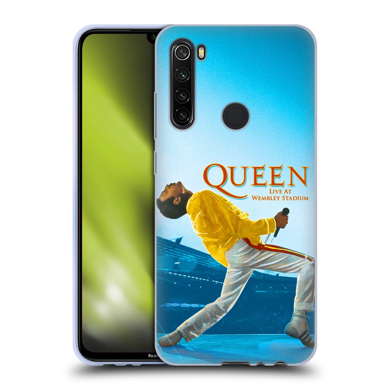 Silikonové pouzdro na mobil Xiaomi Redmi Note 8T - Head Case - Queen - Freddie Mercury