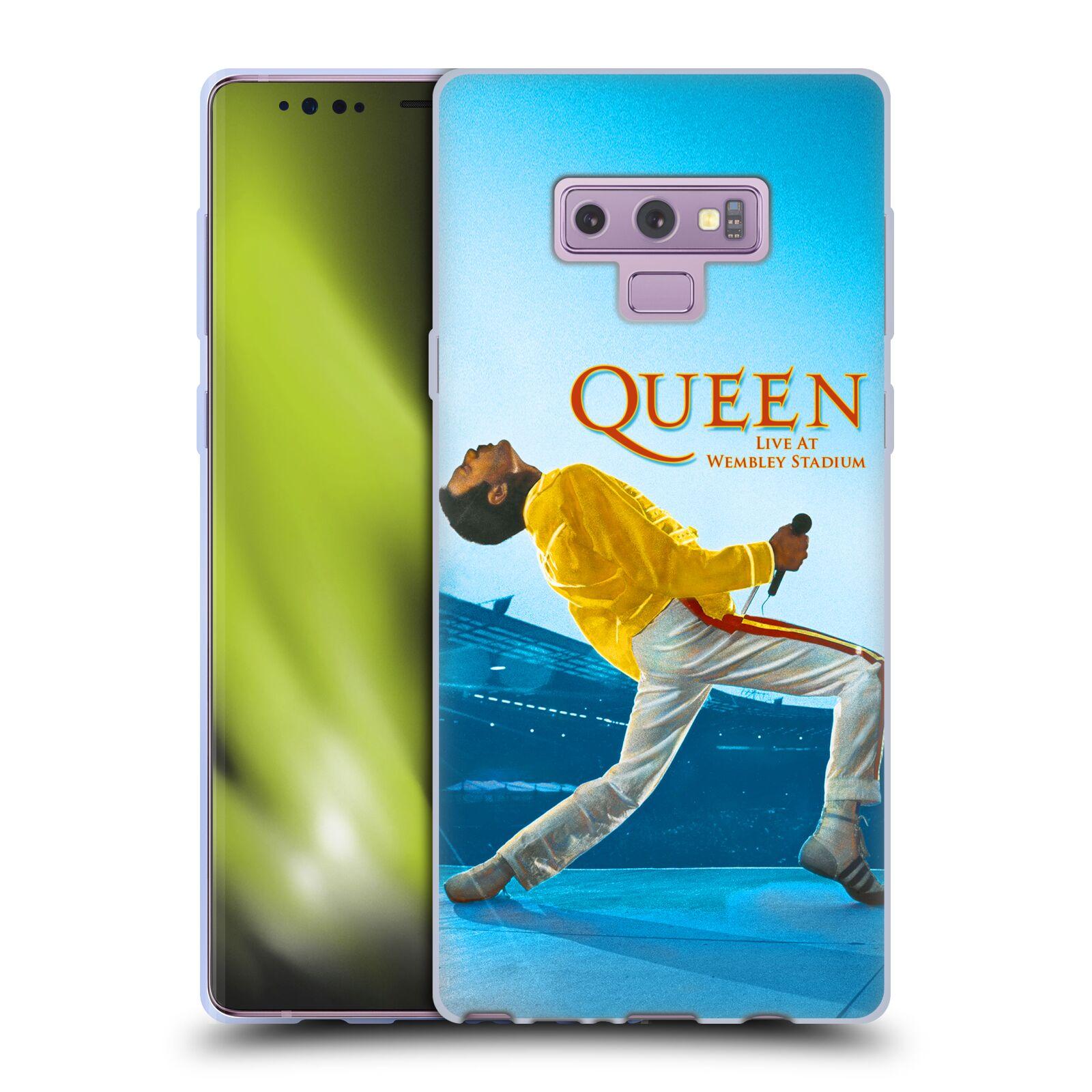Silikonové pouzdro na mobil Samsung Galaxy Note 9 - Head Case - Queen - Freddie Mercury