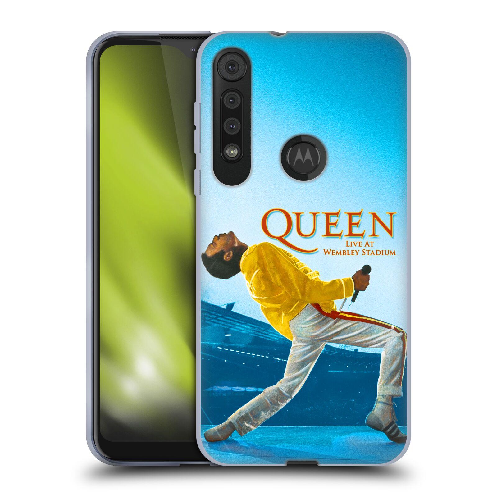 Silikonové pouzdro na mobil Motorola One Macro - Head Case - Queen - Freddie Mercury