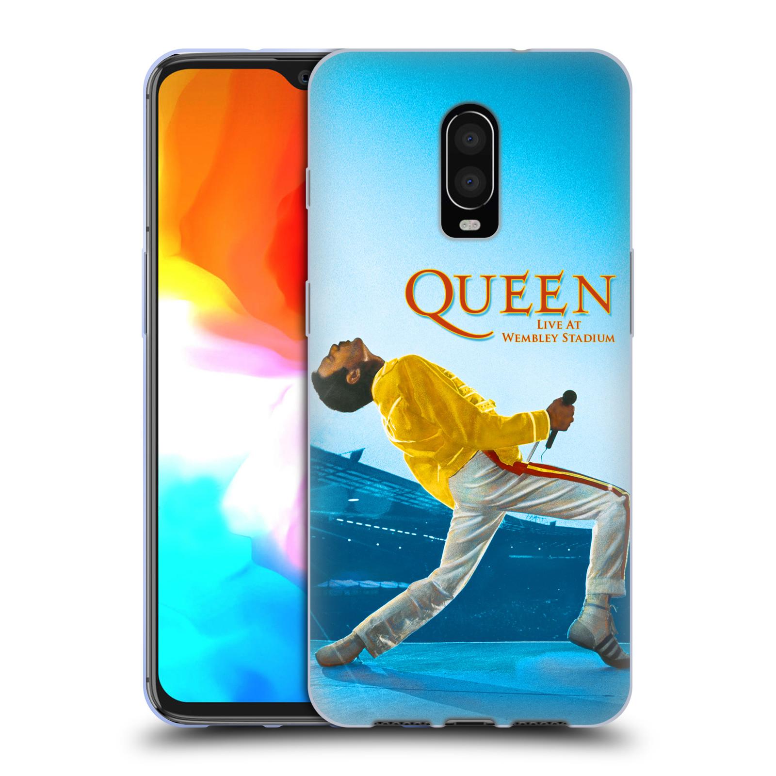Silikonové pouzdro na mobil OnePlus 6T - Head Case - Queen - Freddie Mercury