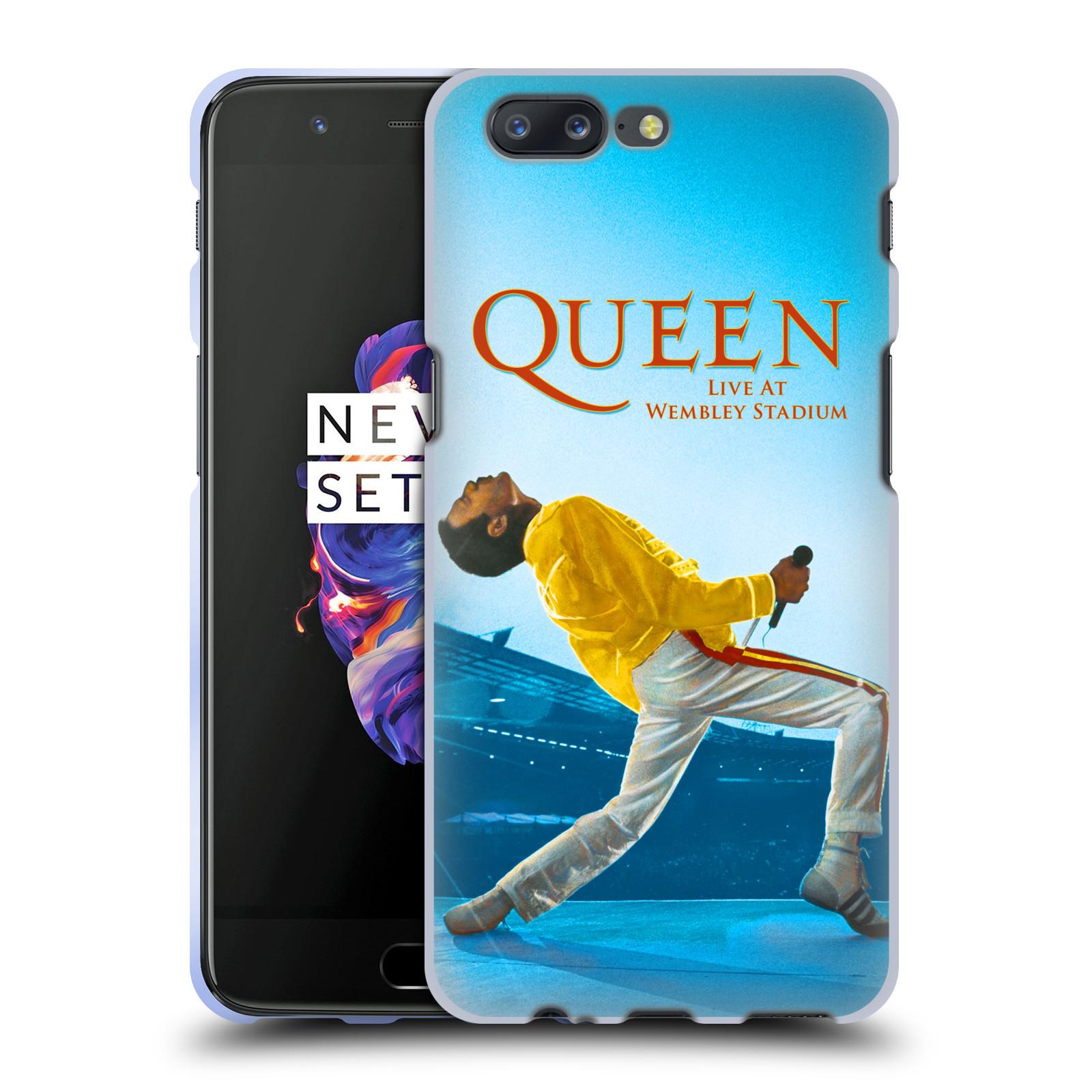 Silikonové pouzdro na mobil OnePlus 5 - Head Case - Queen - Freddie Mercury