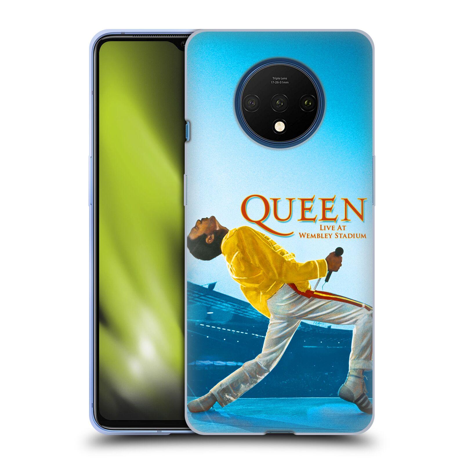 Silikonové pouzdro na mobil OnePlus 7T - Head Case - Queen - Freddie Mercury