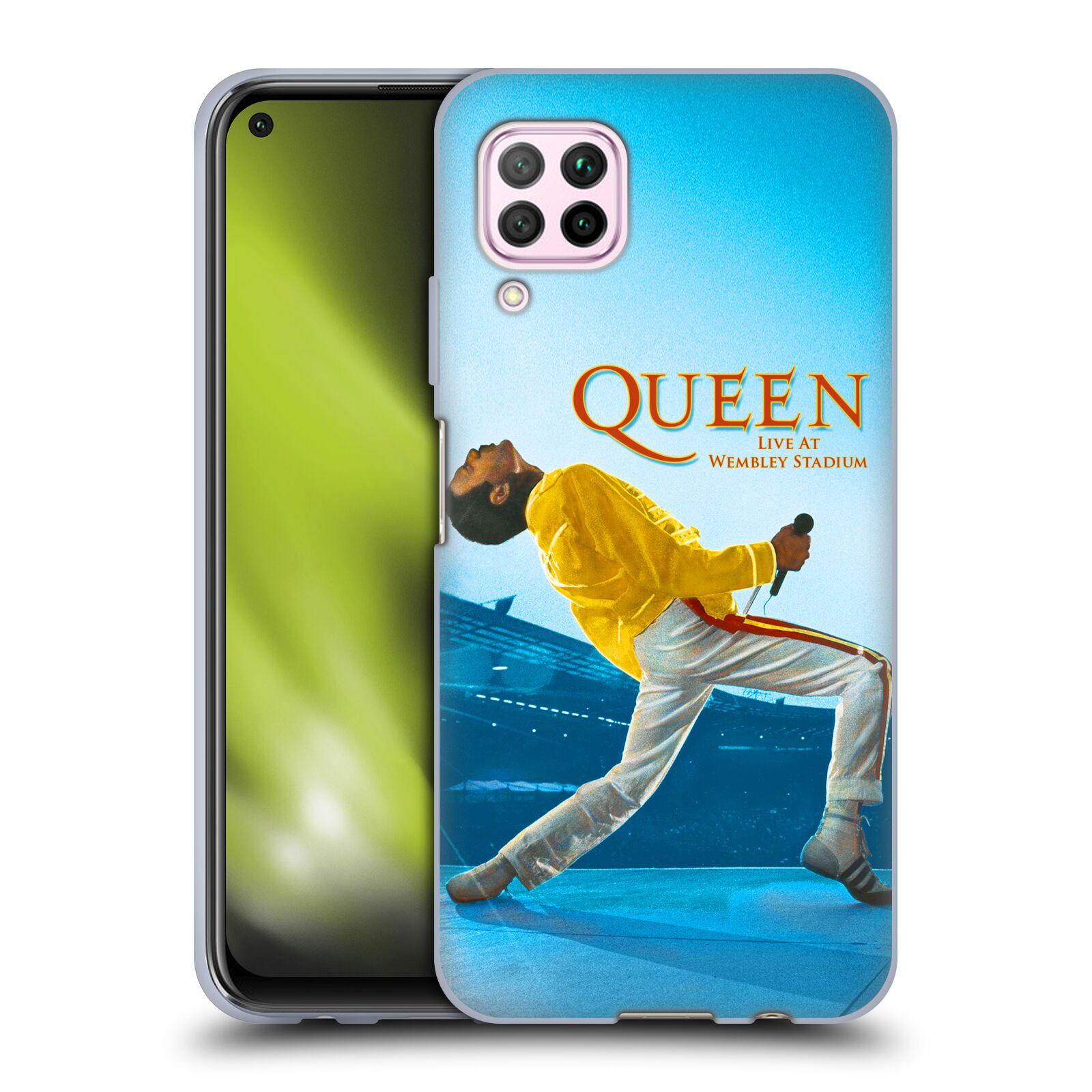 Silikonové pouzdro na mobil Huawei P40 Lite - Head Case - Queen - Freddie Mercury