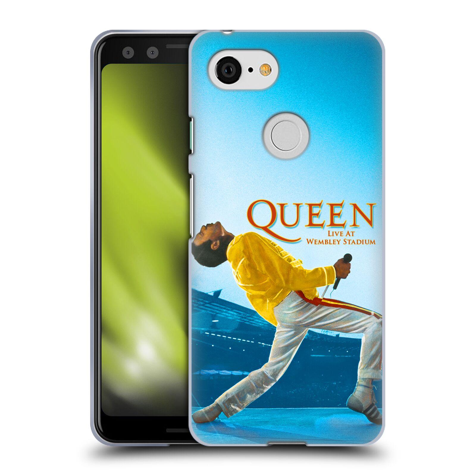 Silikonové pouzdro na mobil Google Pixel 3 - Head Case - Queen - Freddie Mercury