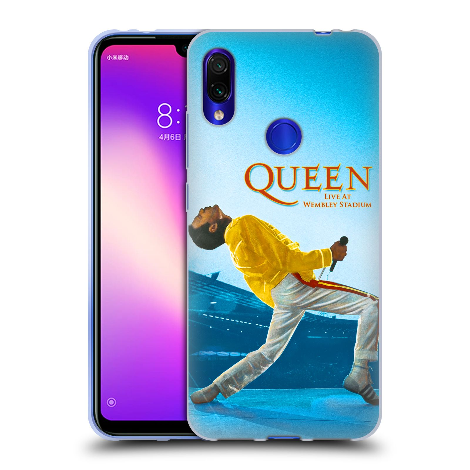Silikonové pouzdro na mobil Xiaomi Redmi Note 7 - Head Case - Queen - Freddie Mercury