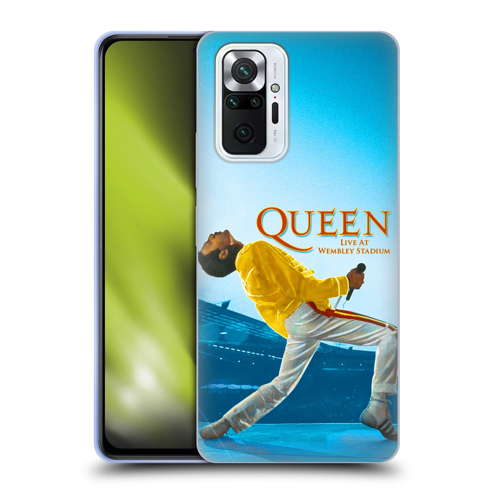 Silikonové pouzdro na mobil Xiaomi Redmi Note 10 Pro - Head Case - Queen - Freddie Mercury