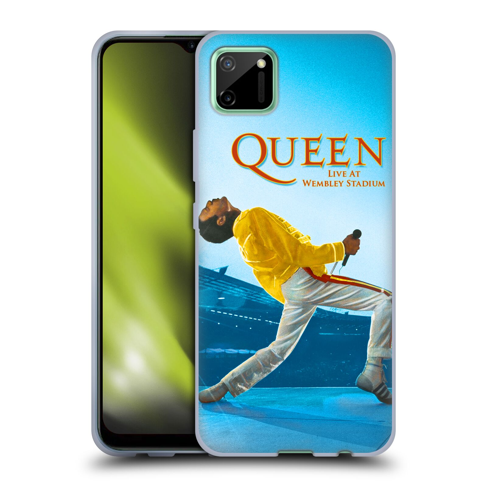 Silikonové pouzdro na mobil Realme C11 - Head Case - Queen - Freddie Mercury