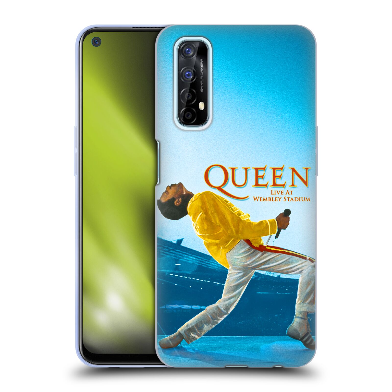 Silikonové pouzdro na mobil Realme 7 - Head Case - Queen - Freddie Mercury