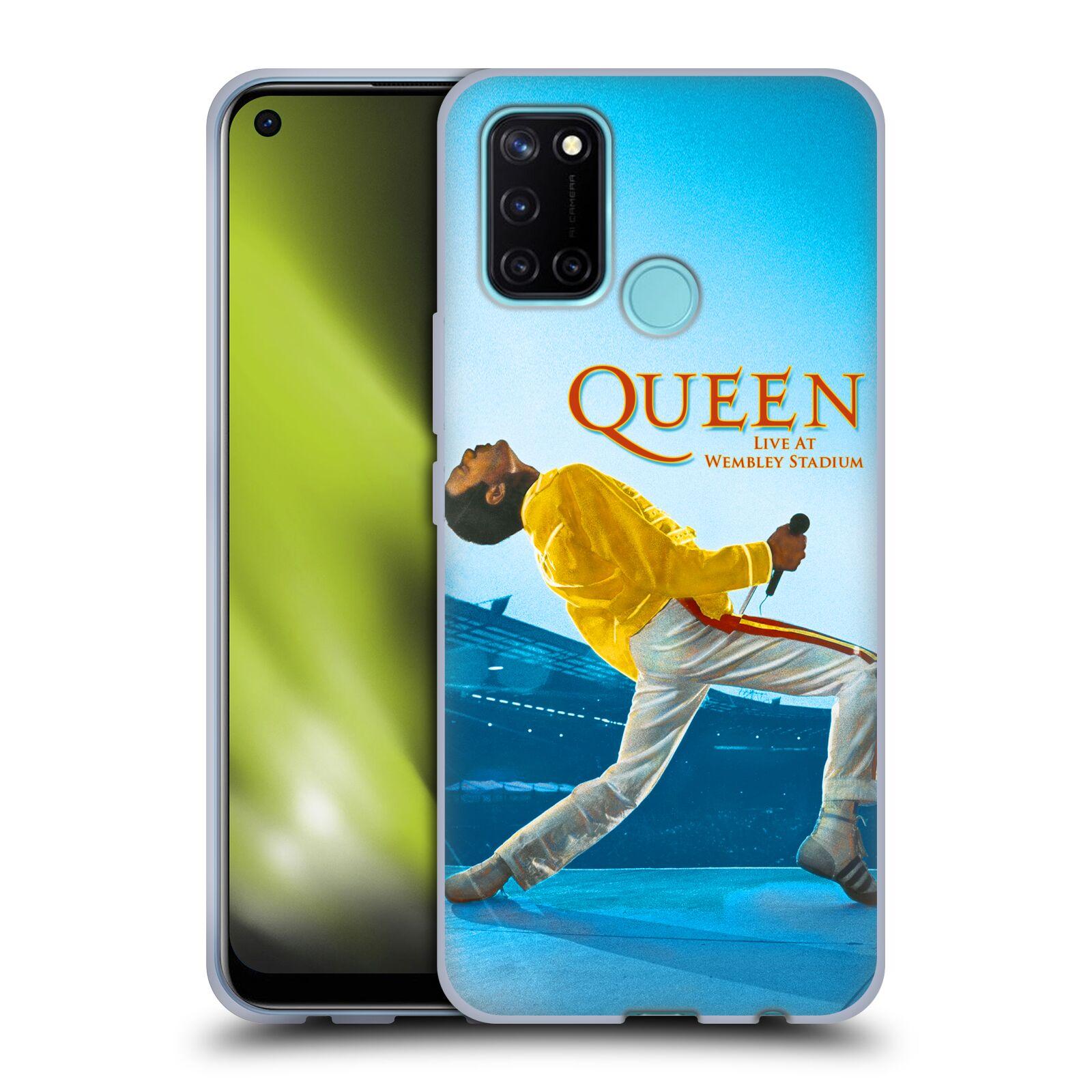 Silikonové pouzdro na mobil Realme 7i - Head Case - Queen - Freddie Mercury