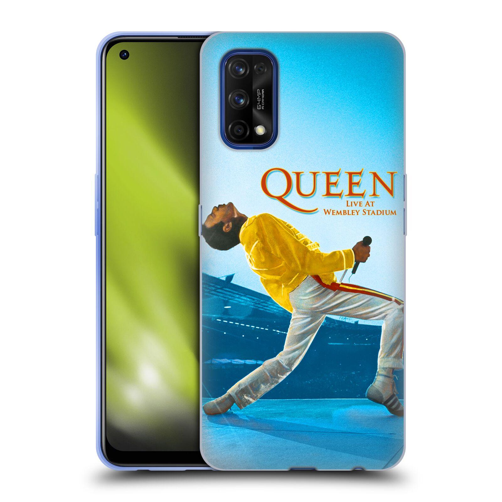 Silikonové pouzdro na mobil Realme 7 Pro - Head Case - Queen - Freddie Mercury