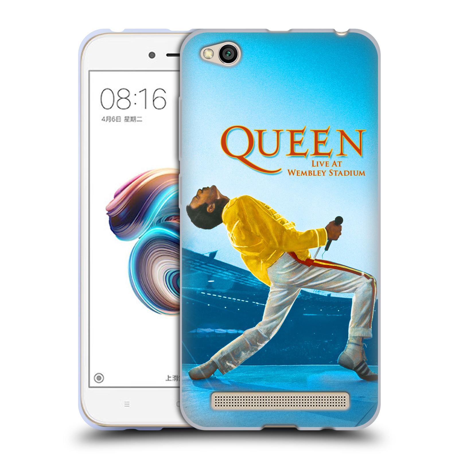 Silikonové pouzdro na mobil Xiaomi Redmi 5A - Head Case - Queen - Freddie Mercury