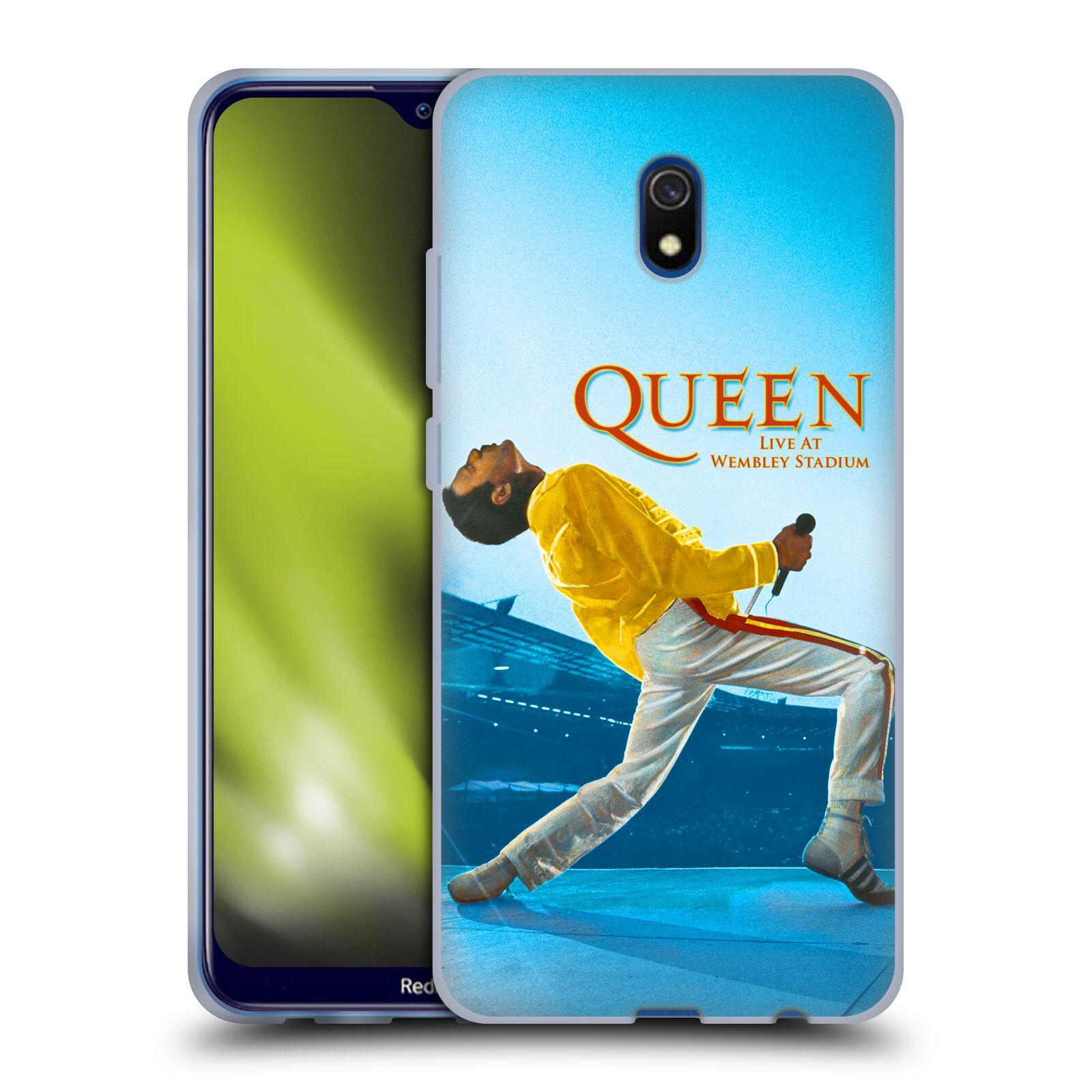 Silikonové pouzdro na mobil Xiaomi Redmi 8A - Head Case - Queen - Freddie Mercury