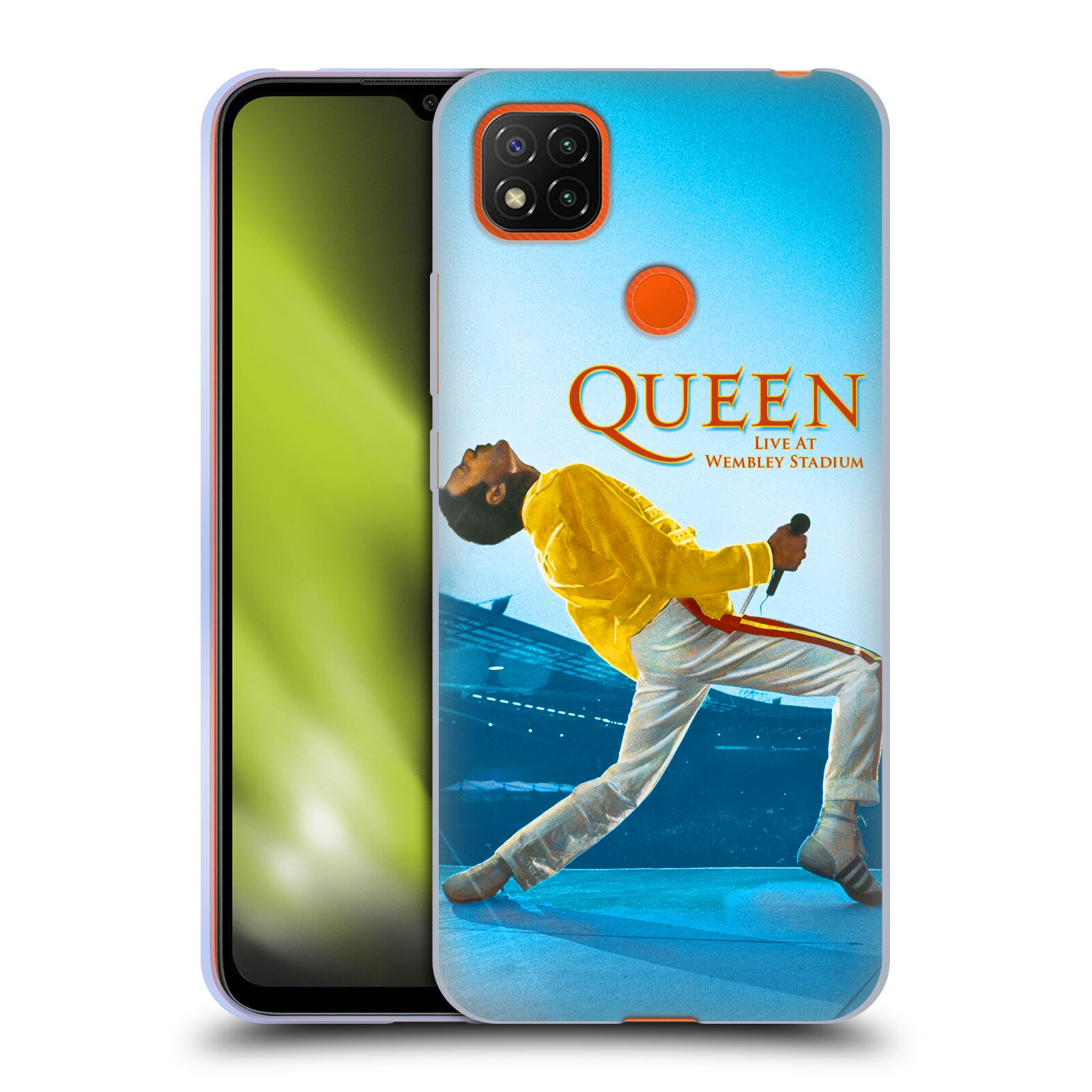 Silikonové pouzdro na mobil Xiaomi Redmi 9C - Head Case - Queen - Freddie Mercury