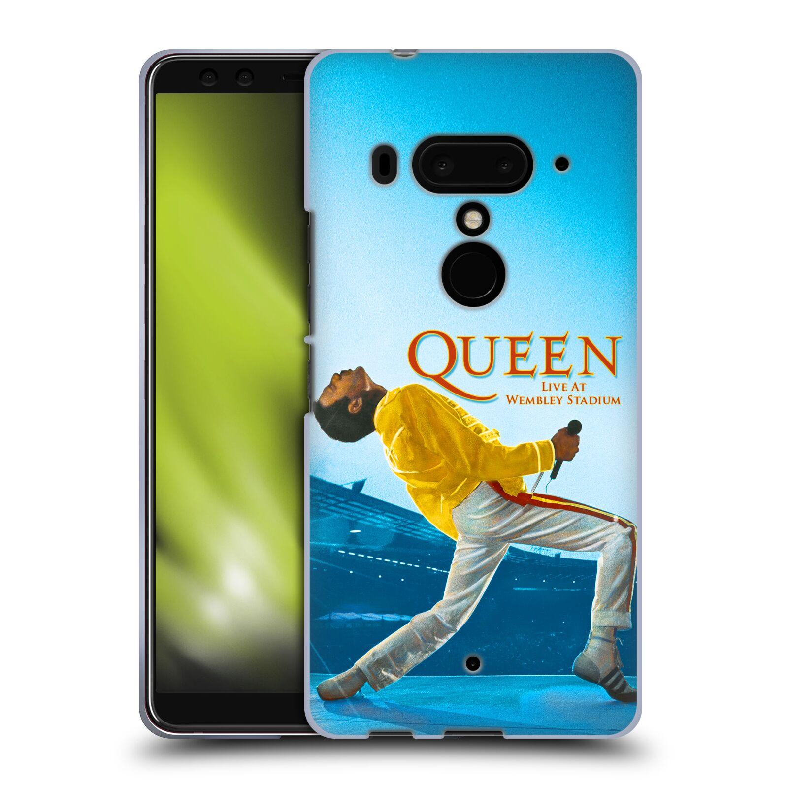 Silikonové pouzdro na mobil HTC U12 Plus - Head Case - Queen - Freddie Mercury