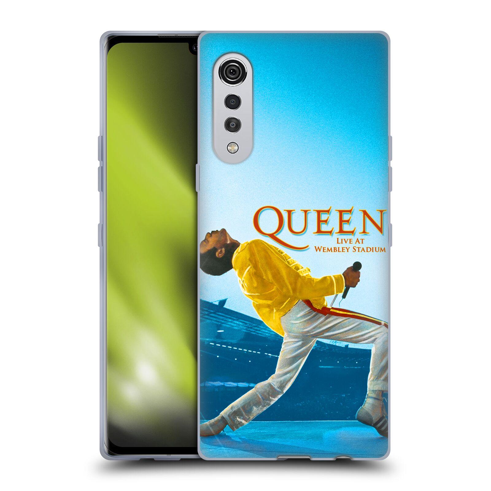 Silikonové pouzdro na mobil LG Velvet - Head Case - Queen - Freddie Mercury