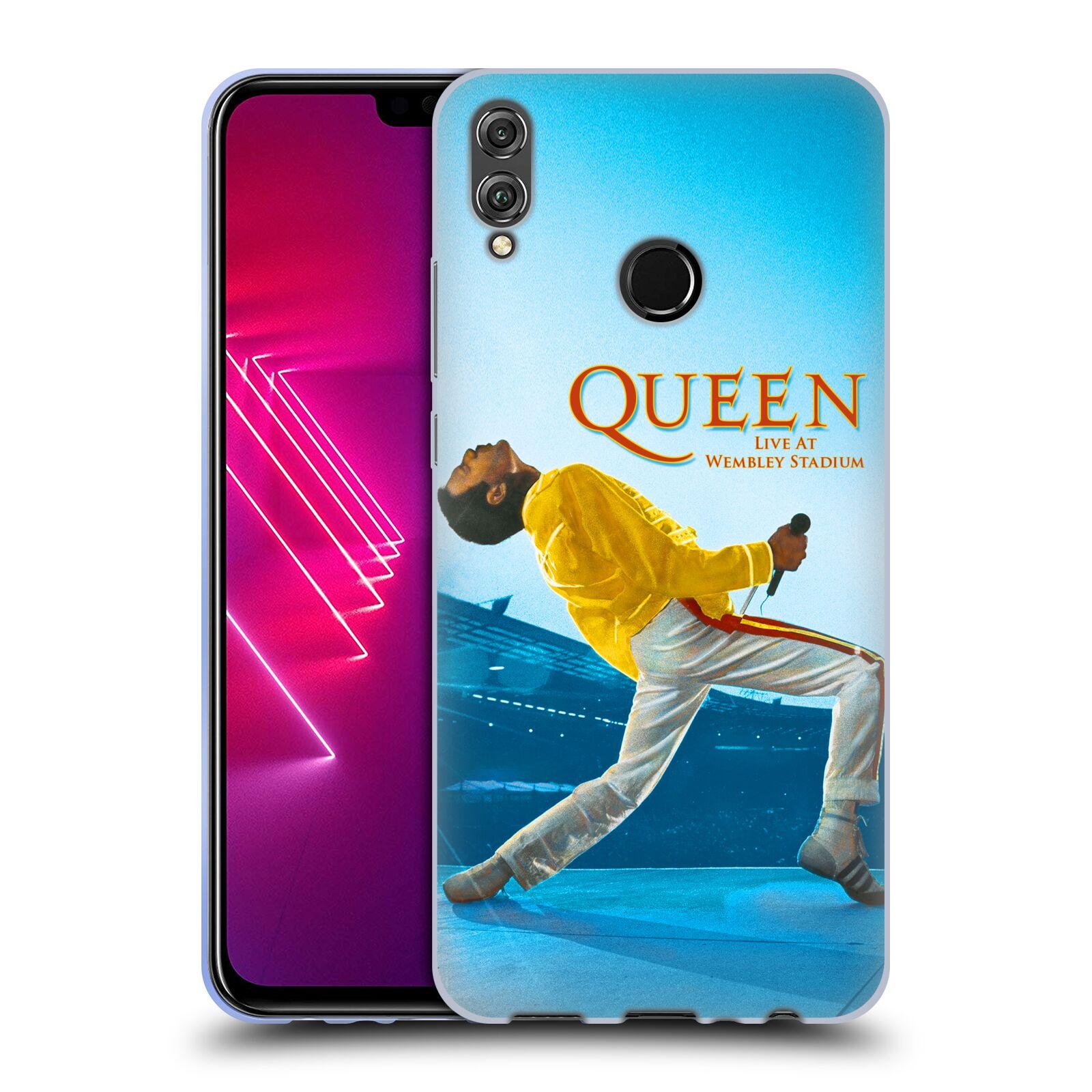 Silikonové pouzdro na mobil Honor View 10 Lite - Head Case - Queen - Freddie Mercury