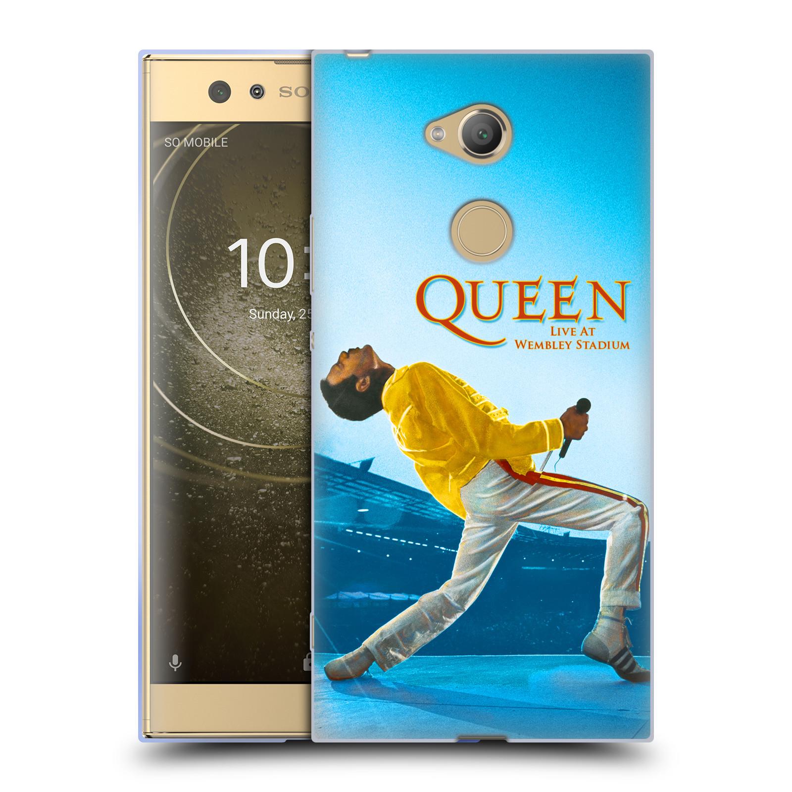 Silikonové pouzdro na mobil Sony Xperia XA2 Ultra - Head Case - Queen - Freddie Mercury