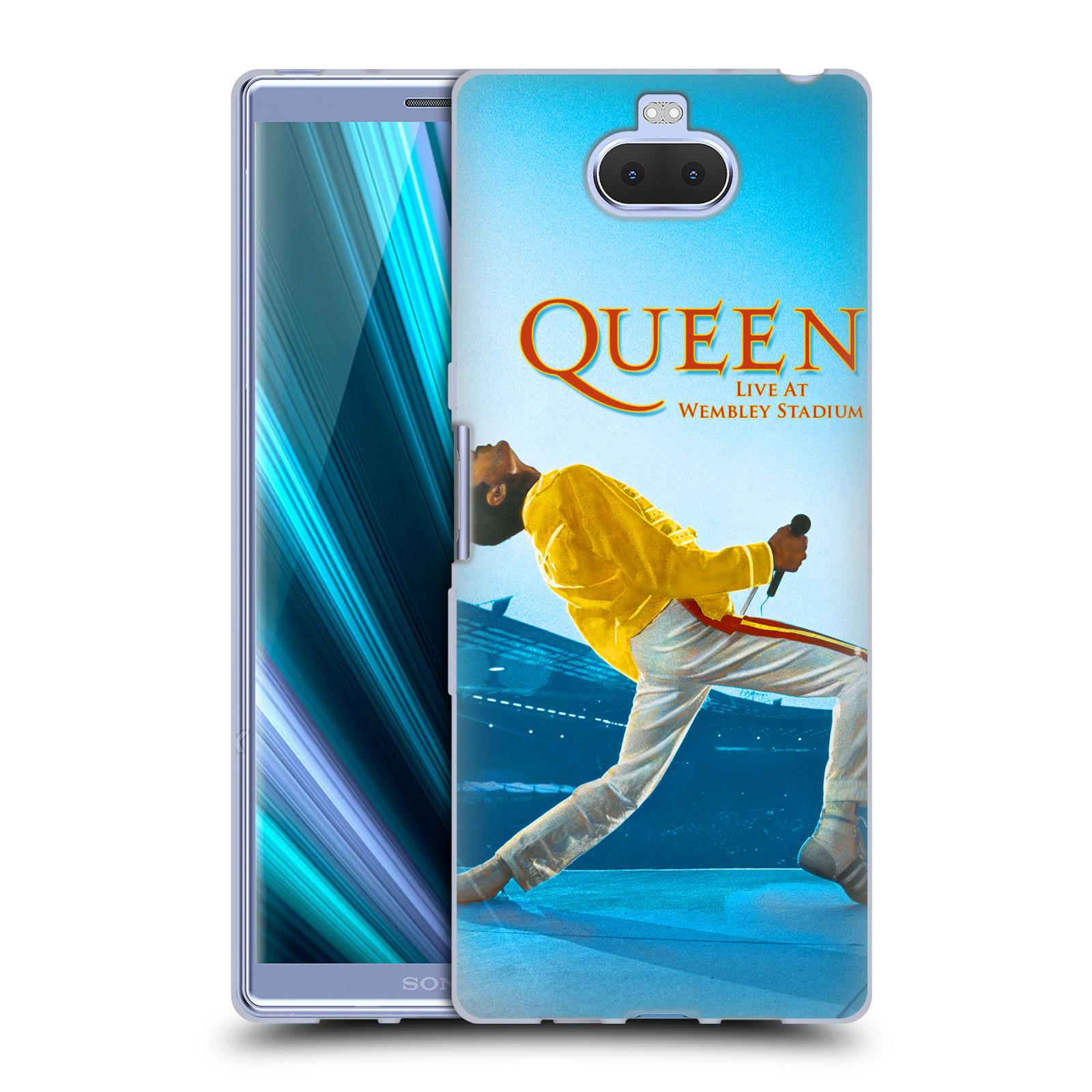 Silikonové pouzdro na mobil Sony Xperia 10 Plus - Head Case - Queen - Freddie Mercury
