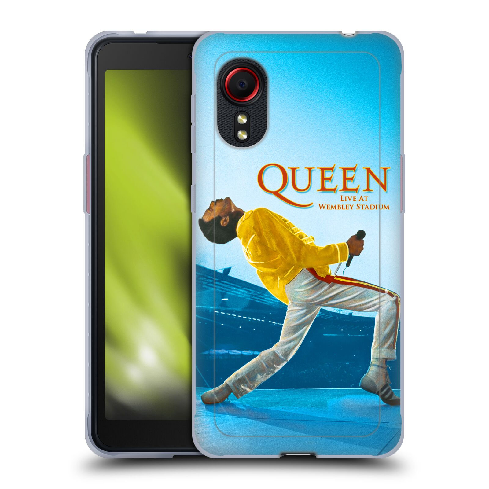 Silikonové pouzdro na mobil Samsung Galaxy Xcover 5 - Head Case - Queen - Freddie Mercury