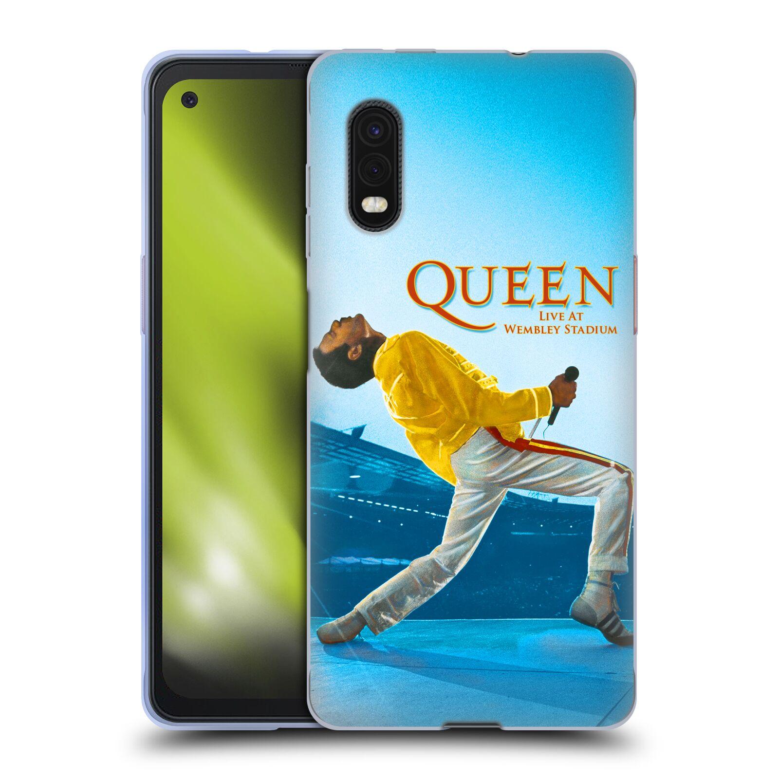 Silikonové pouzdro na mobil Samsung Galaxy Xcover Pro - Head Case - Queen - Freddie Mercury