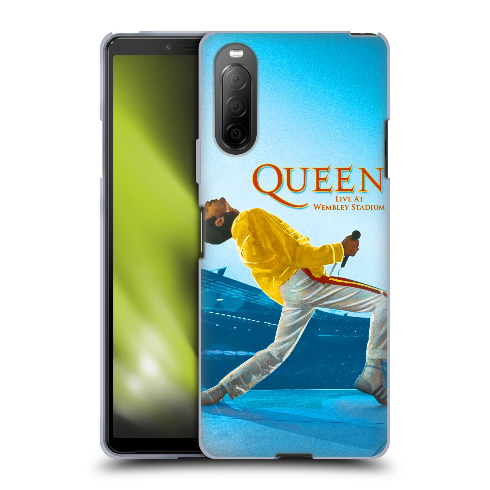 Silikonové pouzdro na mobil Sony Xperia 10 II - Head Case - Queen - Freddie Mercury