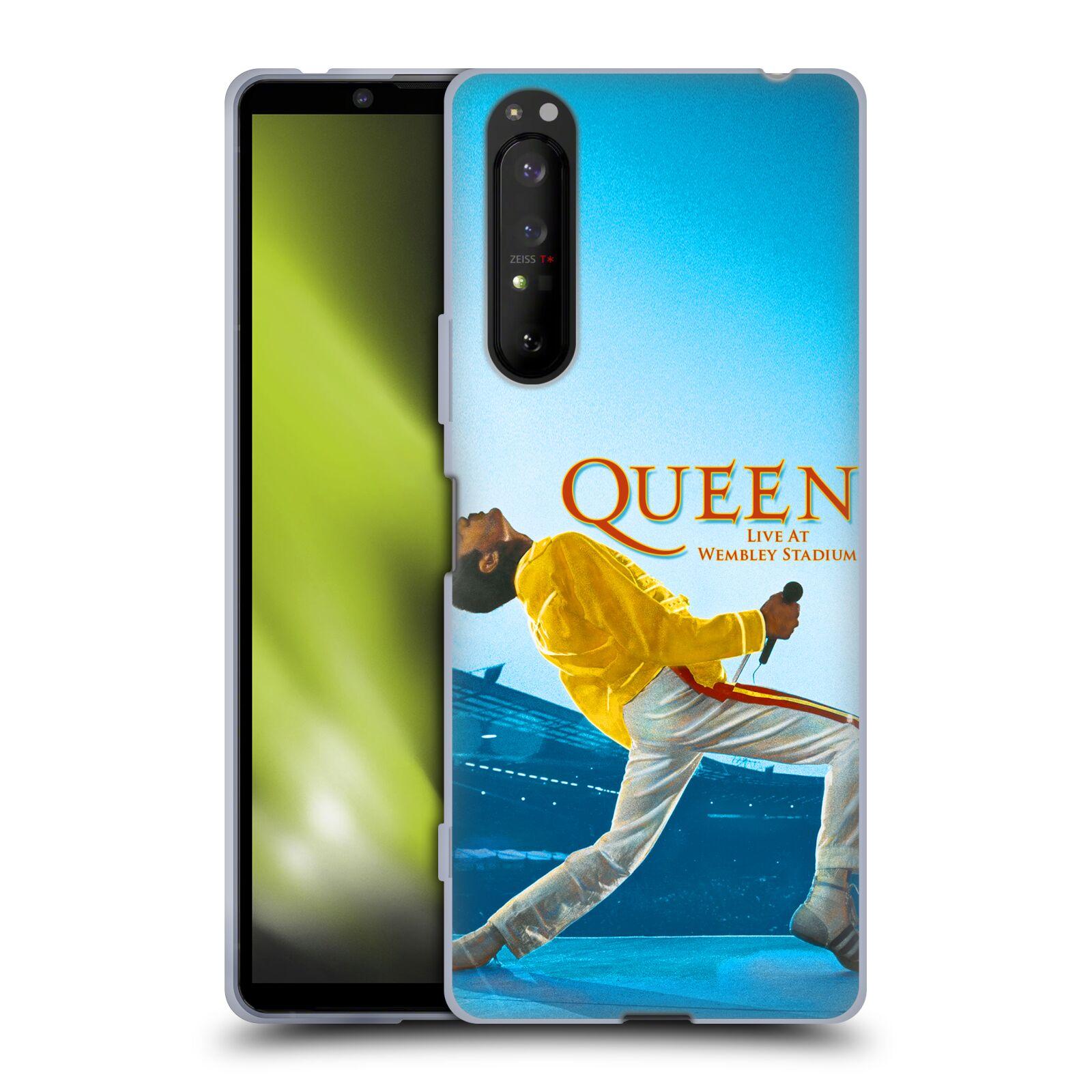 Silikonové pouzdro na mobil Sony Xperia 1 II - Head Case - Queen - Freddie Mercury