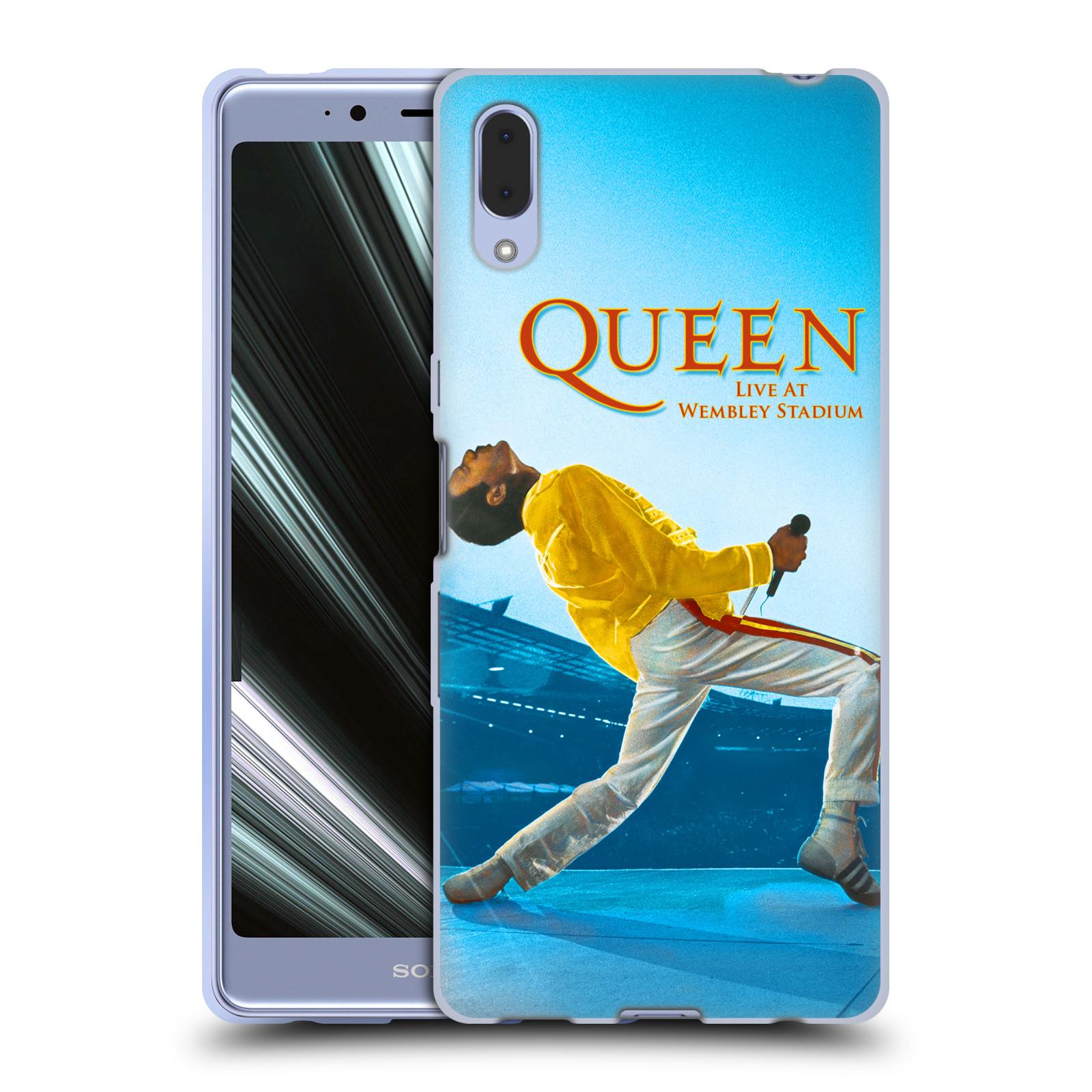 Silikonové pouzdro na mobil Sony Xperia L3 - Head Case - Queen - Freddie Mercury