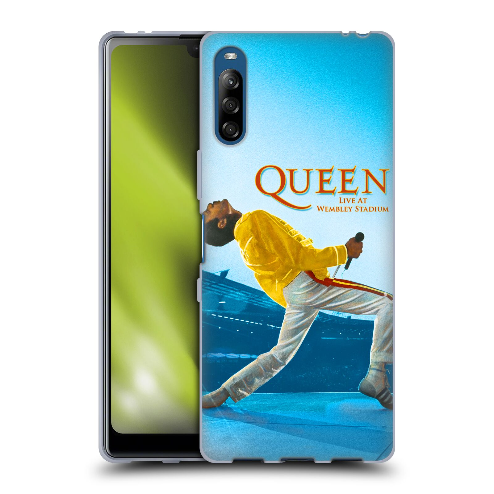 Silikonové pouzdro na mobil Sony Xperia L4 - Head Case - Queen - Freddie Mercury
