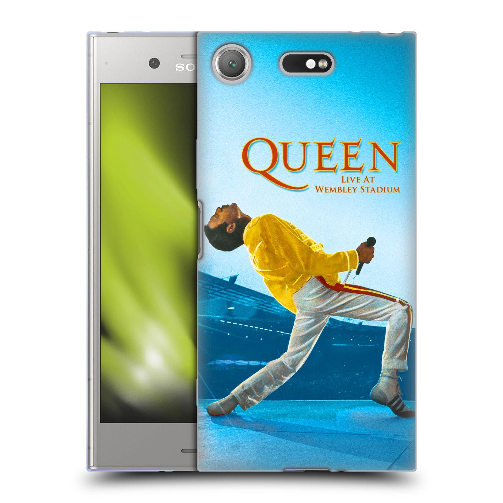 Silikonové pouzdro na mobil Sony Xperia XZ1 Compact - Head Case - Queen - Freddie Mercury