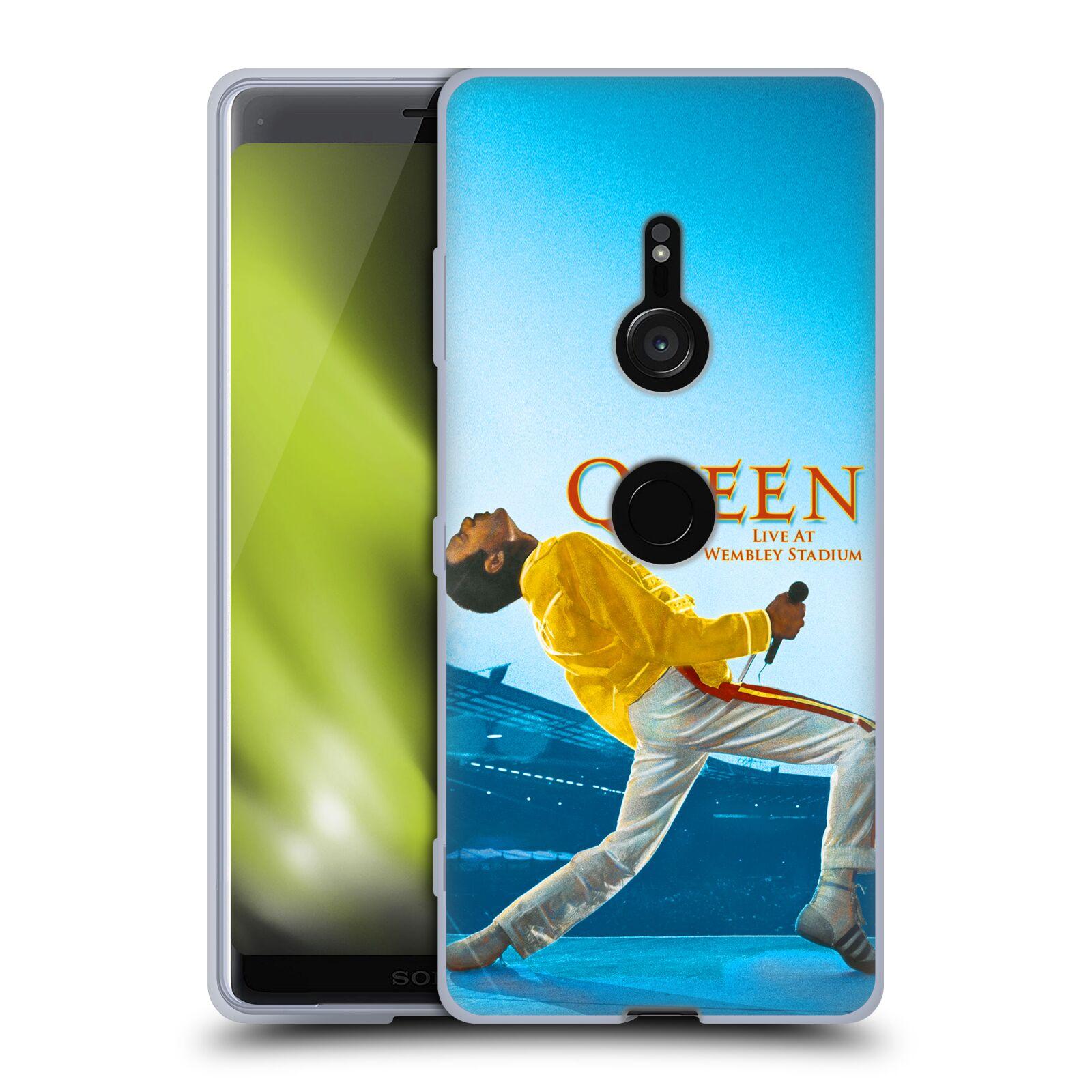 Silikonové pouzdro na mobil Sony Xperia XZ3 - Head Case - Queen - Freddie Mercury