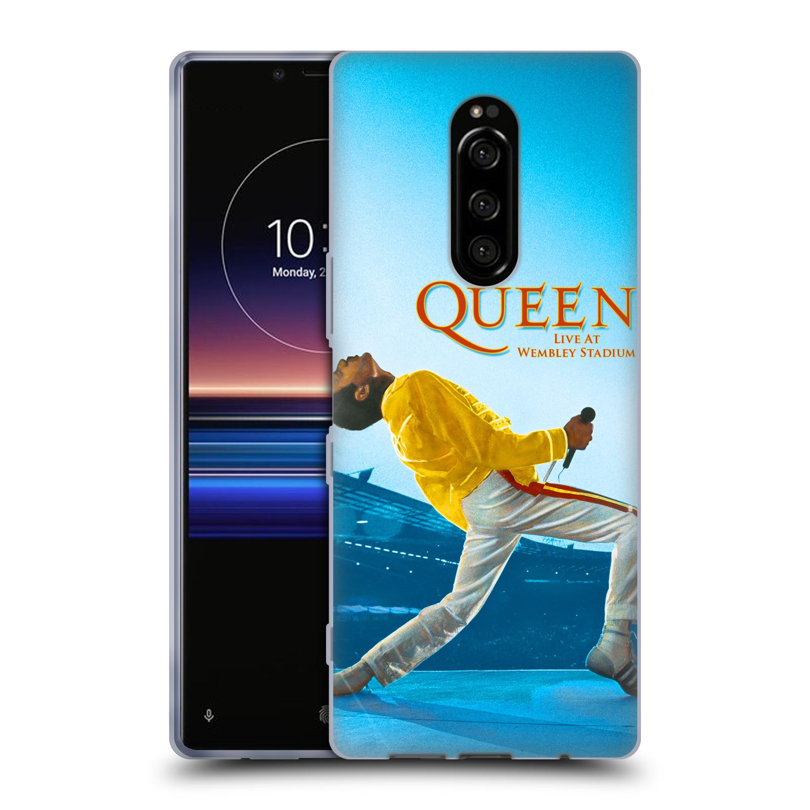 Silikonové pouzdro na mobil Sony Xperia 1 - Head Case - Queen - Freddie Mercury