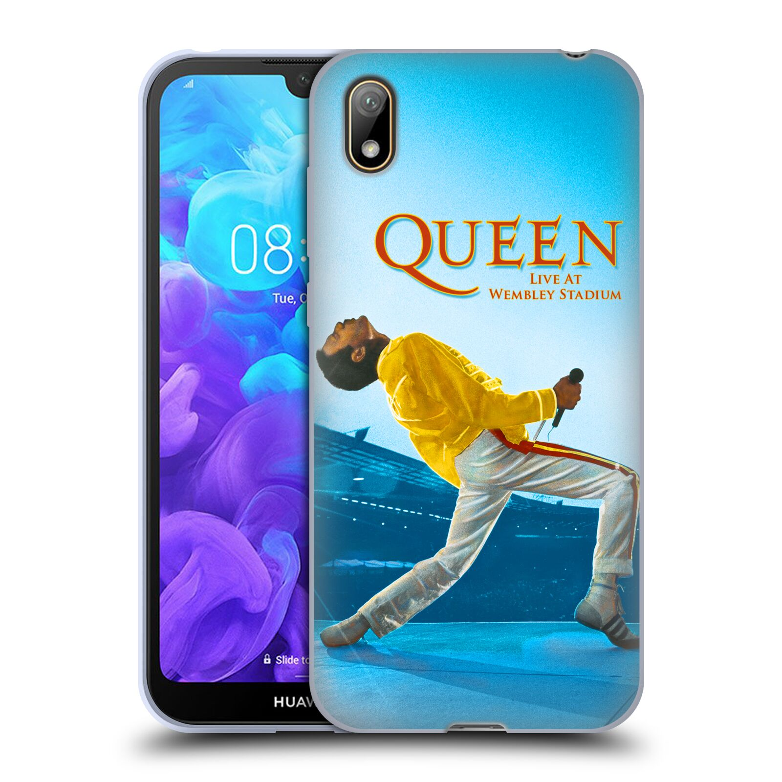 Silikonové pouzdro na mobil Honor 8S - Head Case - Queen - Freddie Mercury