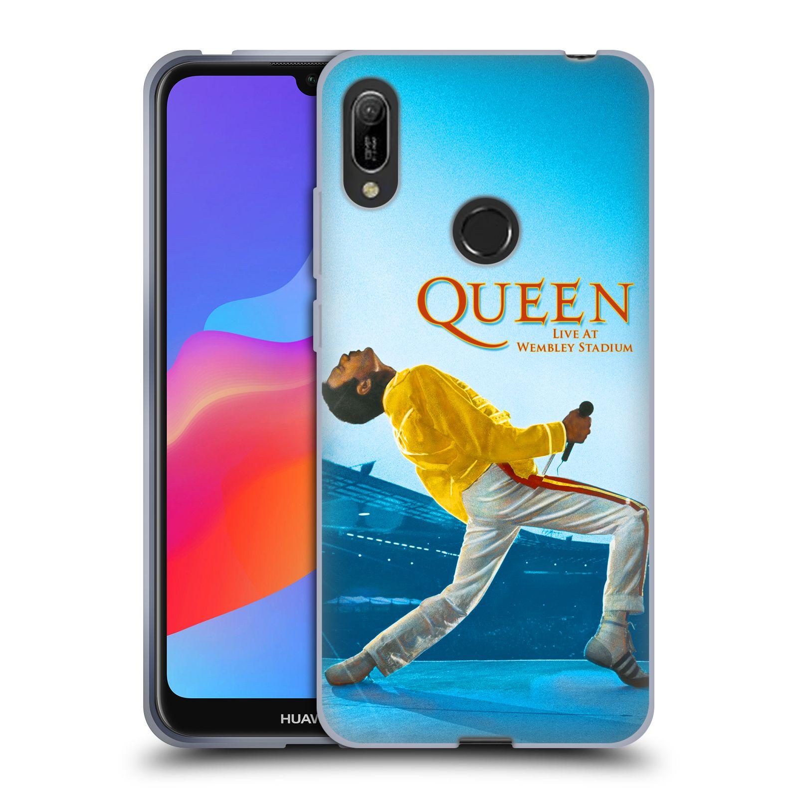 Silikonové pouzdro na mobil Huawei Y6 (2019) - Head Case - Queen - Freddie Mercury