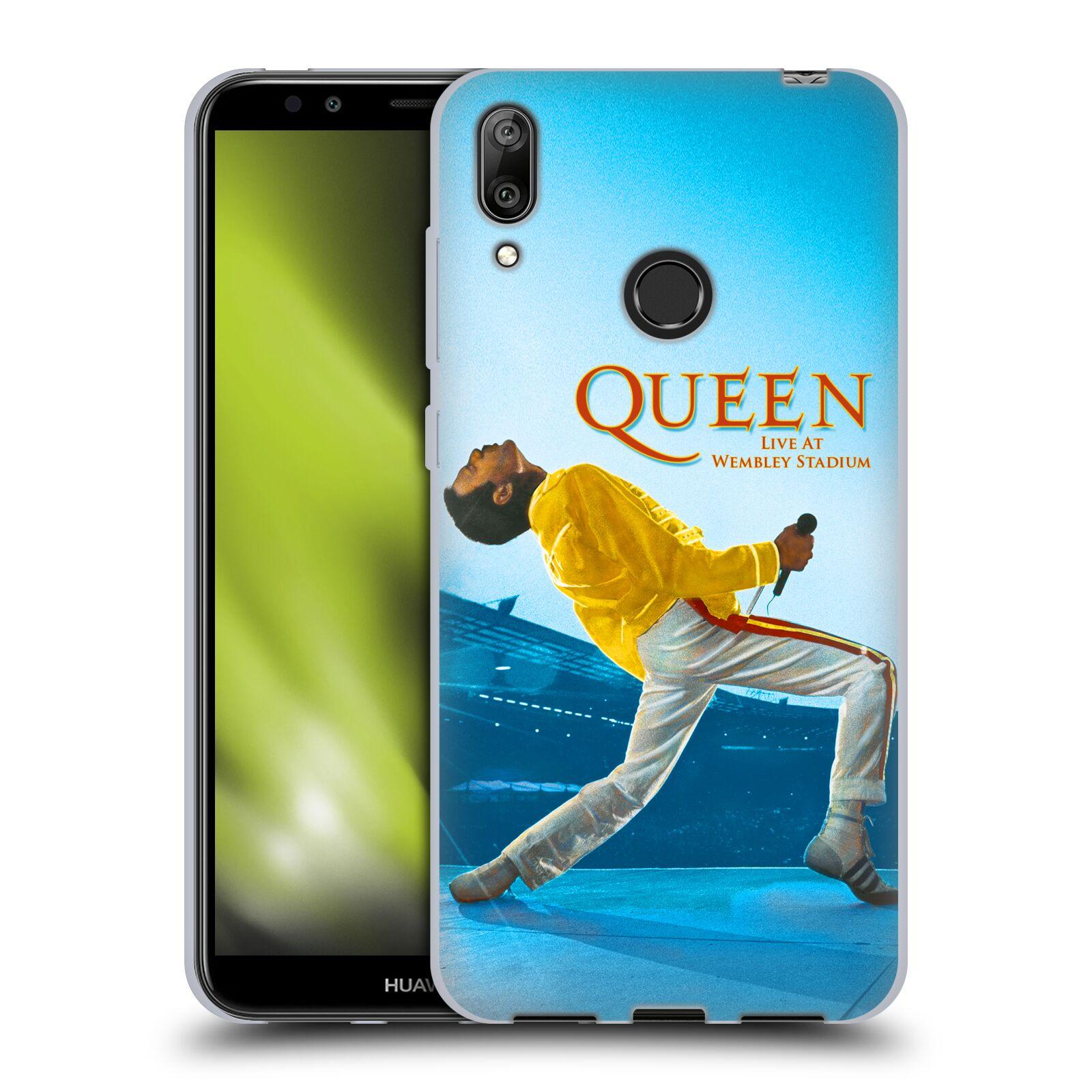 Silikonové pouzdro na mobil Huawei Y7 (2019) - Head Case - Queen - Freddie Mercury
