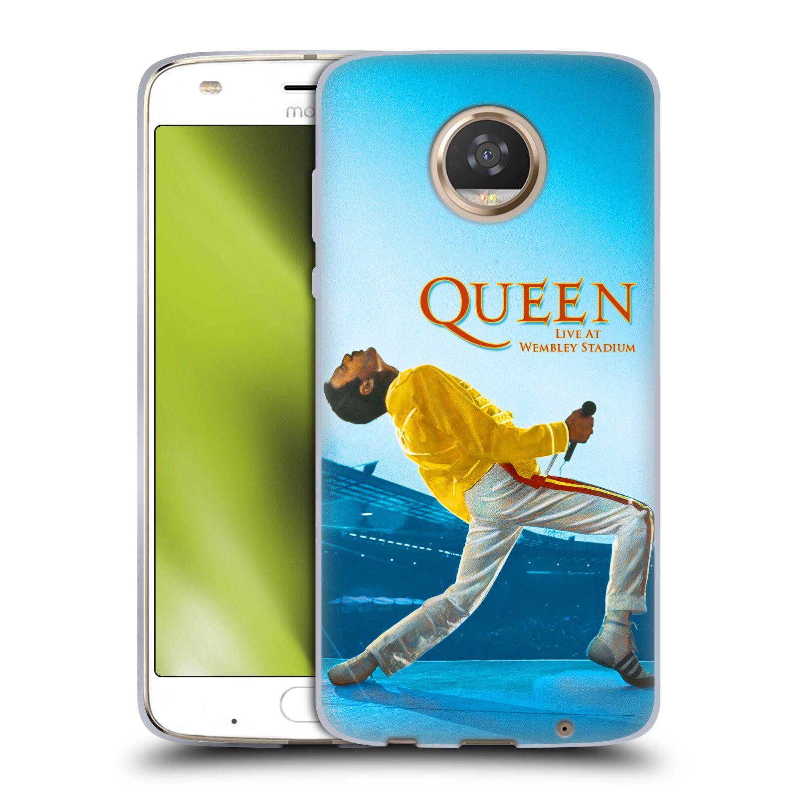 Silikonové pouzdro na mobil Lenovo Moto Z2 Play - Head Case - Queen - Freddie Mercury