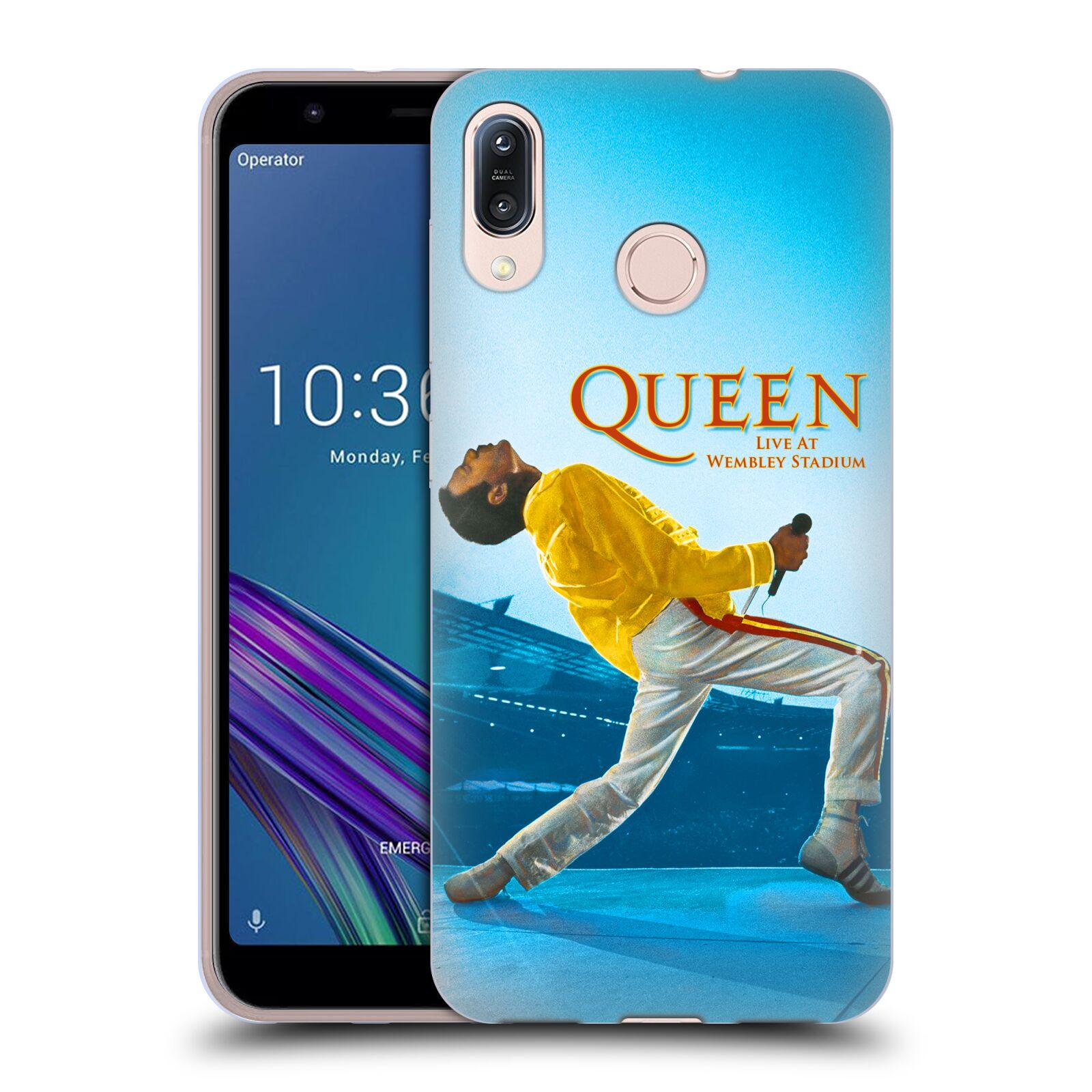 Silikonové pouzdro na mobil Asus Zenfone Max M1 ZB555KL - Head Case - Queen - Freddie Mercury