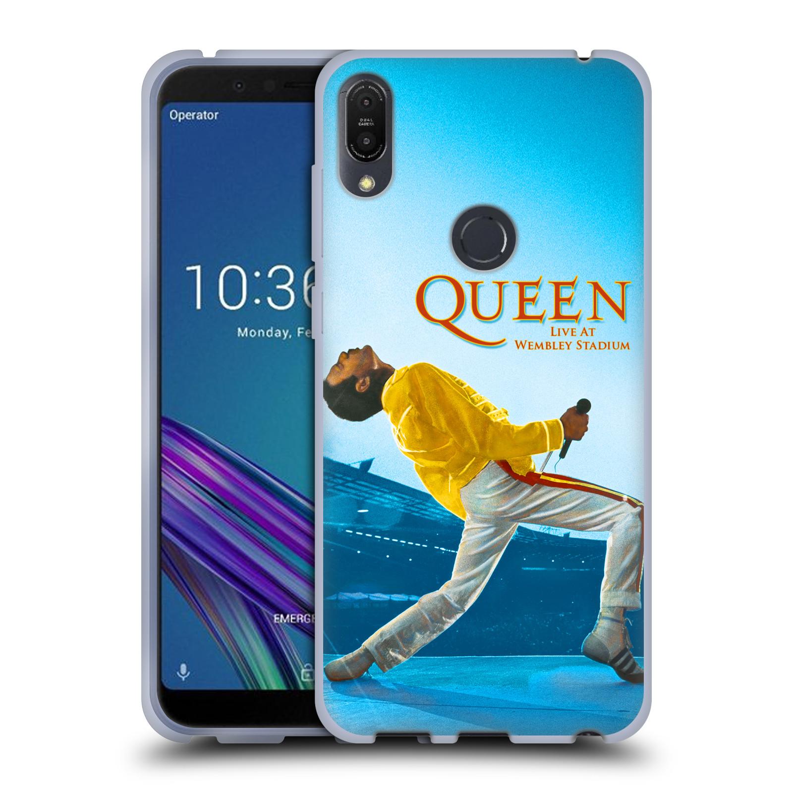 Silikonové pouzdro na mobil Asus ZenFone Max Pro (M1) - Head Case - Queen - Freddie Mercury