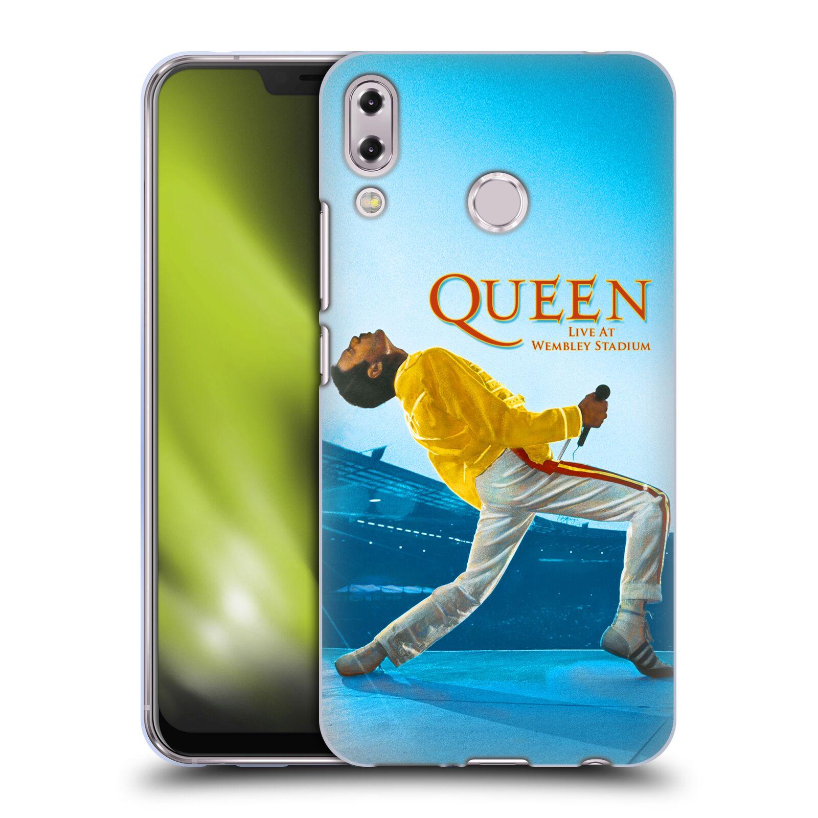 Silikonové pouzdro na mobil Asus ZenFone 5 ZE620KL - Head Case - Queen - Freddie Mercury