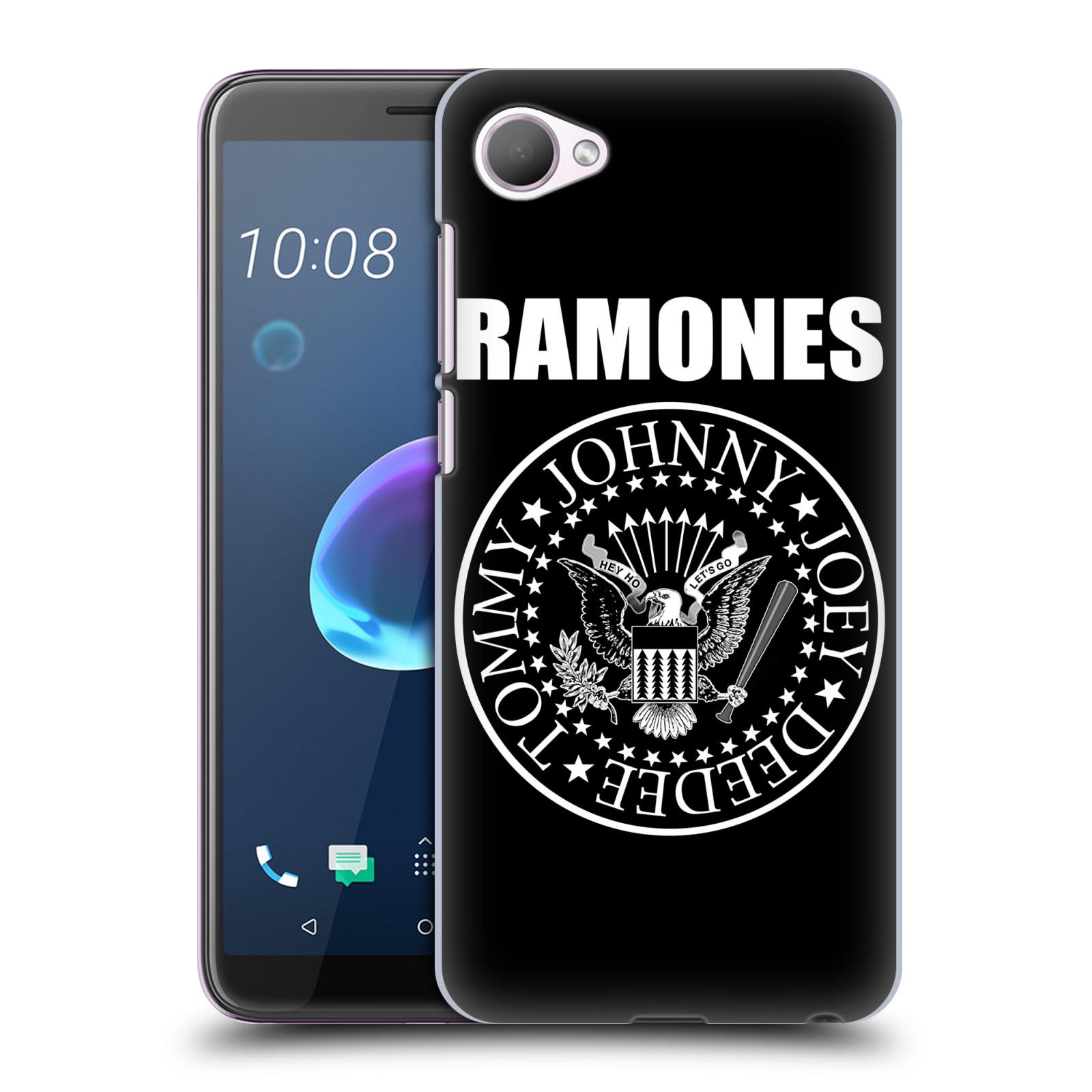 Plastové pouzdro na mobil HTC Desire 12 - Head Case - The Ramones - PRESIDENTIAL SEAL