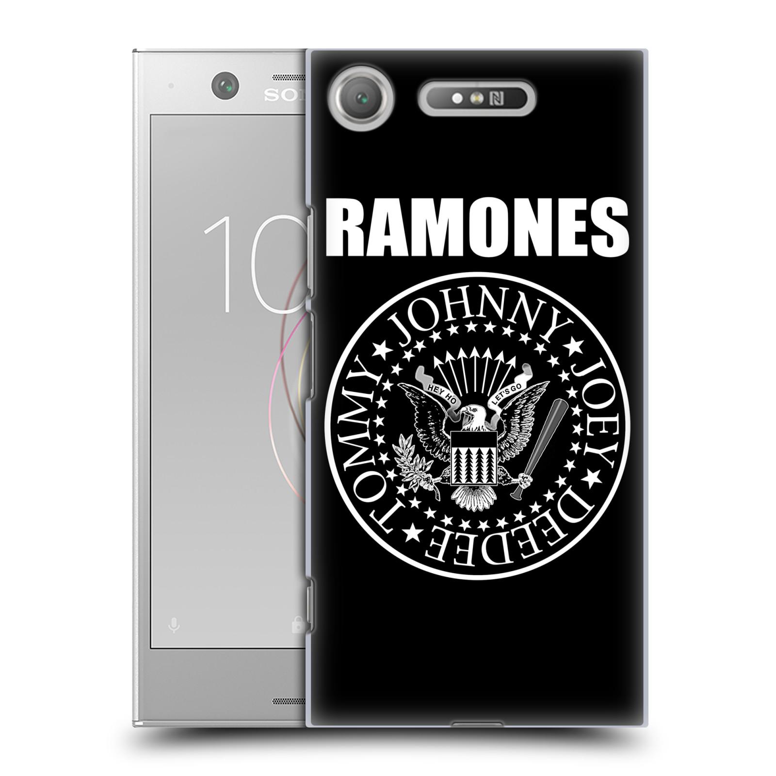Plastové pouzdro na mobil Sony Xperia XZ1 - Head Case - The Ramones - PRESIDENTIAL SEAL