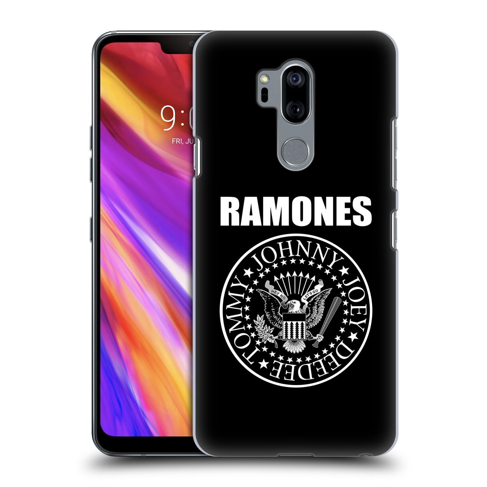 Plastové pouzdro na mobil LG G7 ThinQ - Head Case - The Ramones - PRESIDENTIAL SEAL
