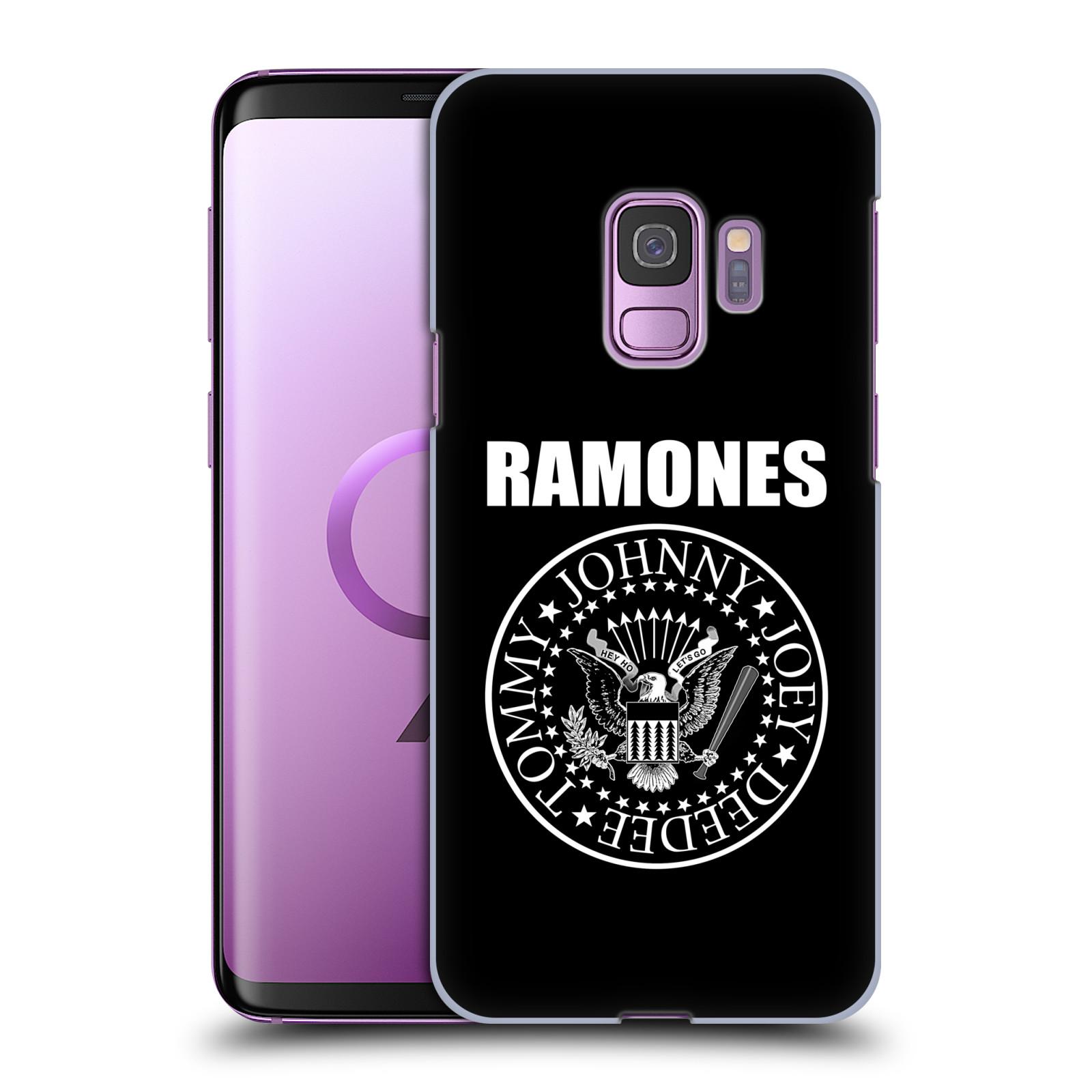 Plastové pouzdro na mobil Samsung Galaxy S9 - Head Case - The Ramones - PRESIDENTIAL SEAL