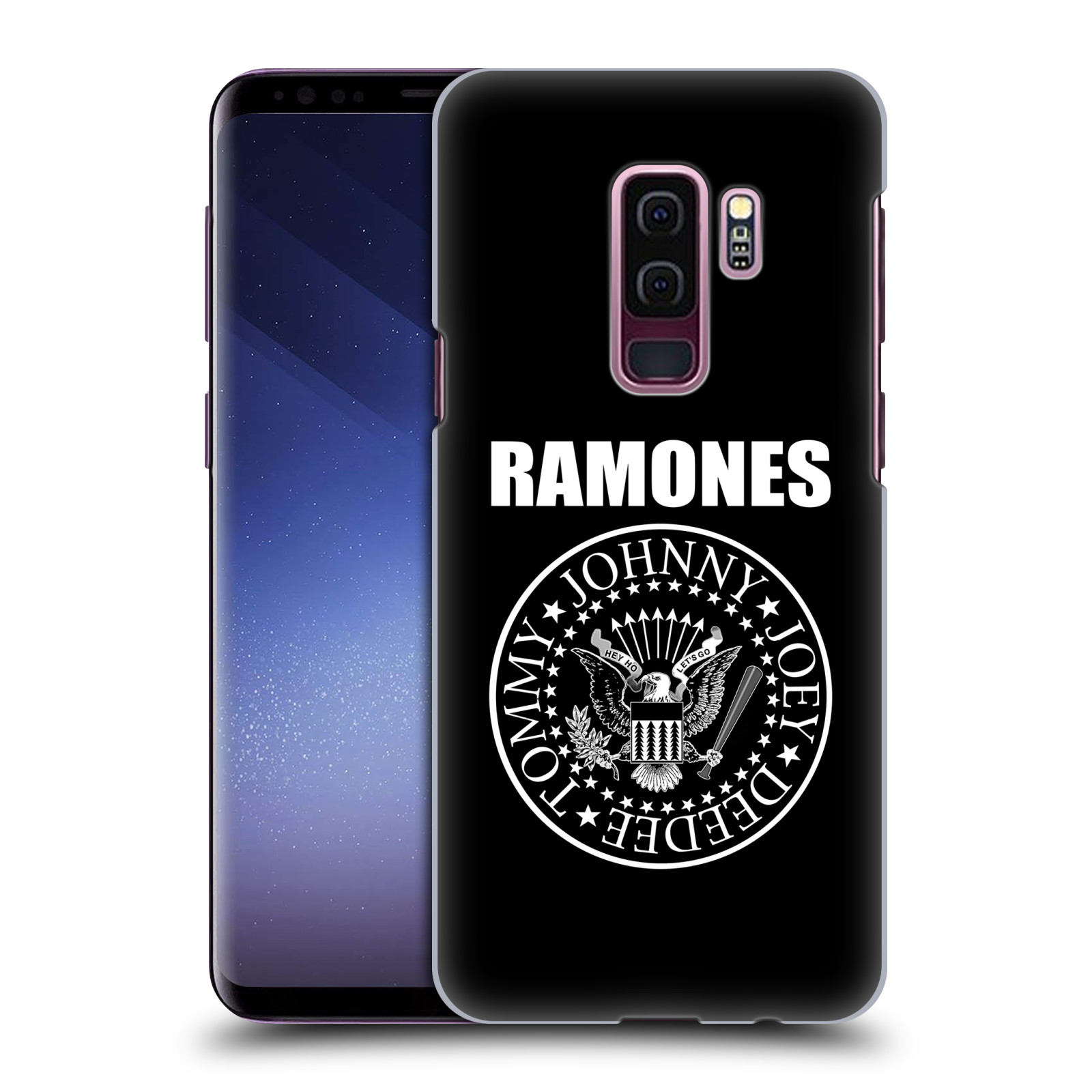 Plastové pouzdro na mobil Samsung Galaxy S9 Plus - Head Case - The Ramones - PRESIDENTIAL SEAL