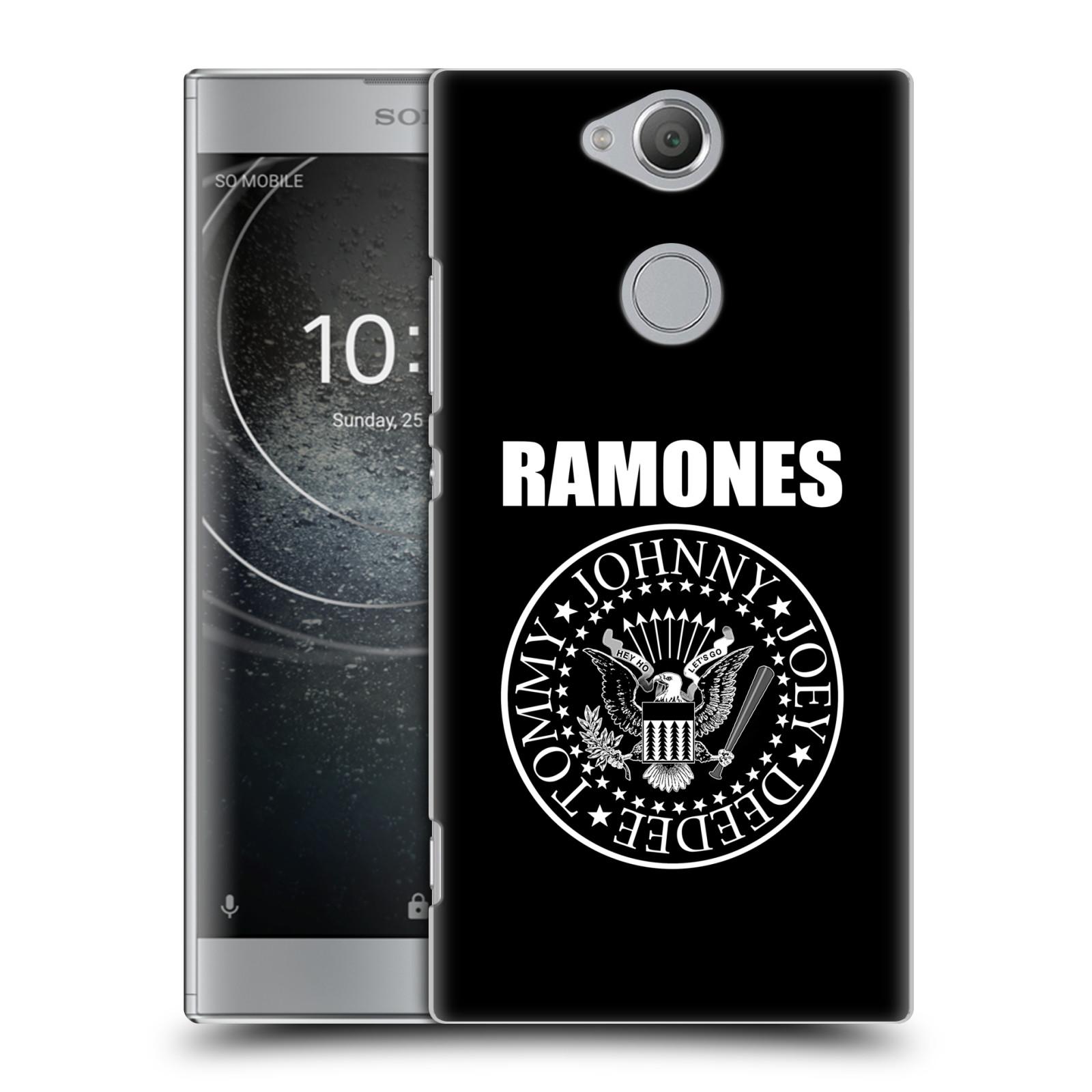 Plastové pouzdro na mobil Sony Xperia XA2 - Head Case - The Ramones - PRESIDENTIAL SEAL