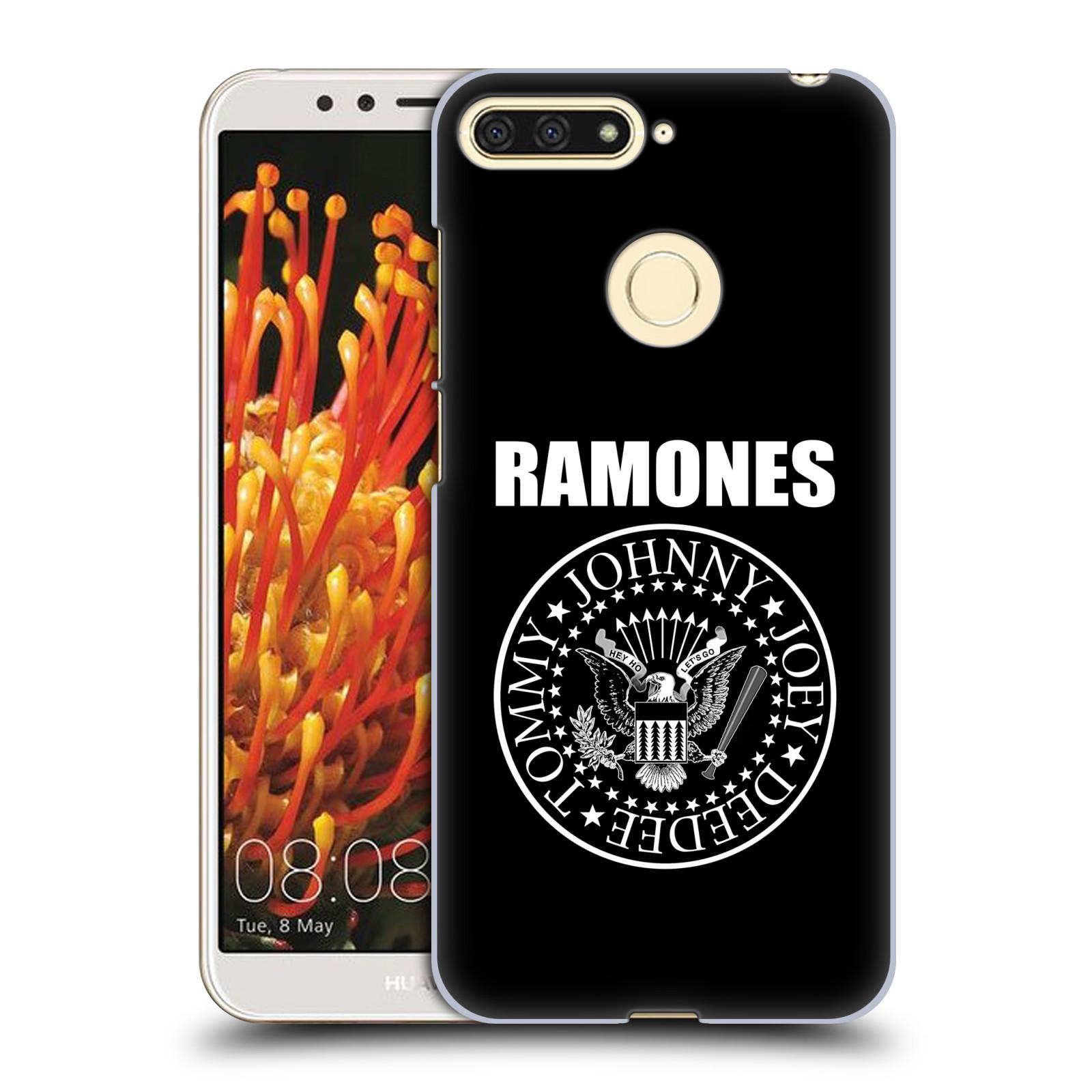 Plastové pouzdro na mobil Honor 7A - Head Case - The Ramones - PRESIDENTIAL SEAL