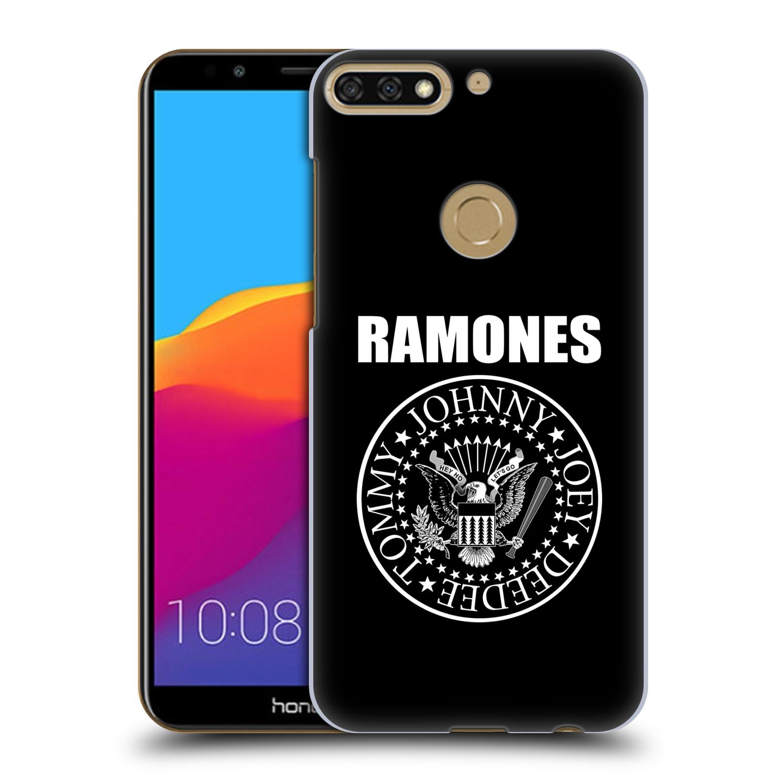 Plastové pouzdro na mobil Honor 7C - Head Case - The Ramones - PRESIDENTIAL SEAL