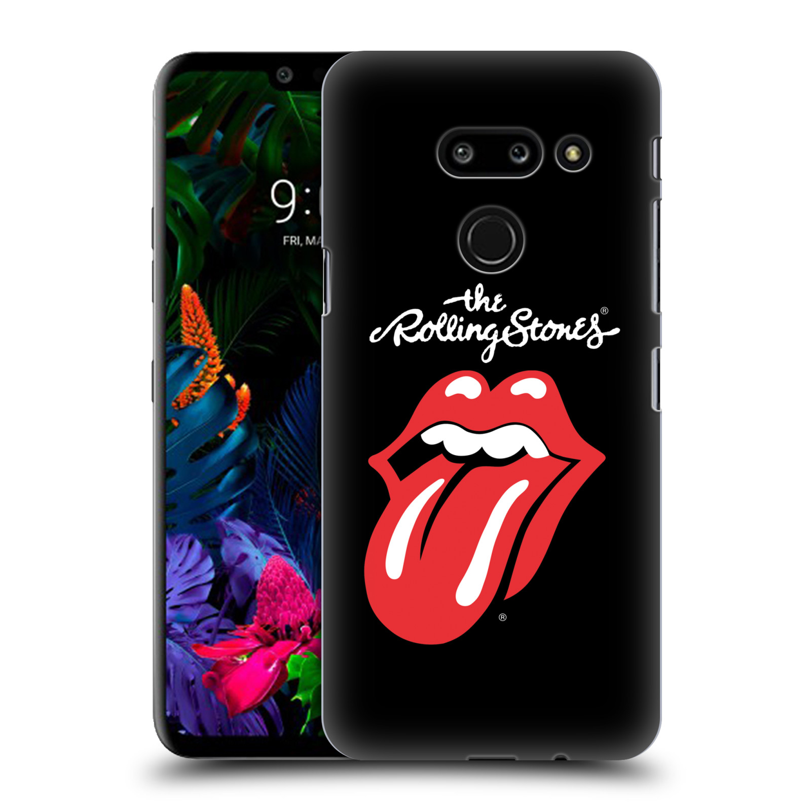 Plastové pouzdro na mobil LG G8 ThinQ - Head Case - The Rolling Stones - Classic Lick