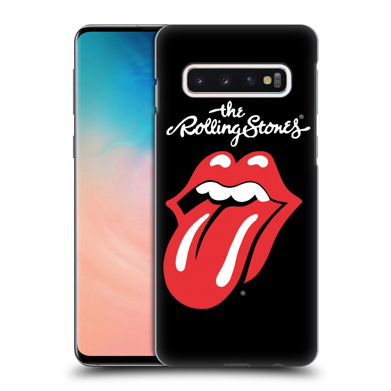 Plastové pouzdro na mobil Samsung Galaxy S10 - Head Case - The Rolling Stones - Classic Lick