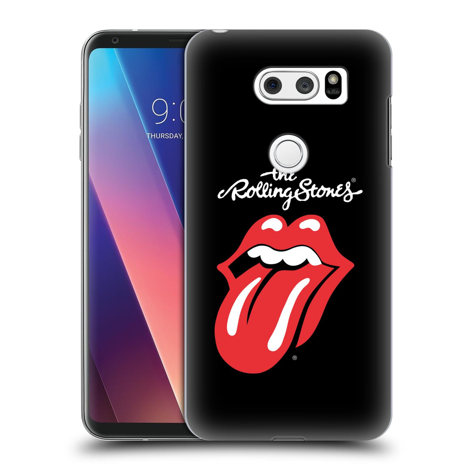 Plastové pouzdro na mobil LG V30 - Head Case - The Rolling Stones - Classic Lick