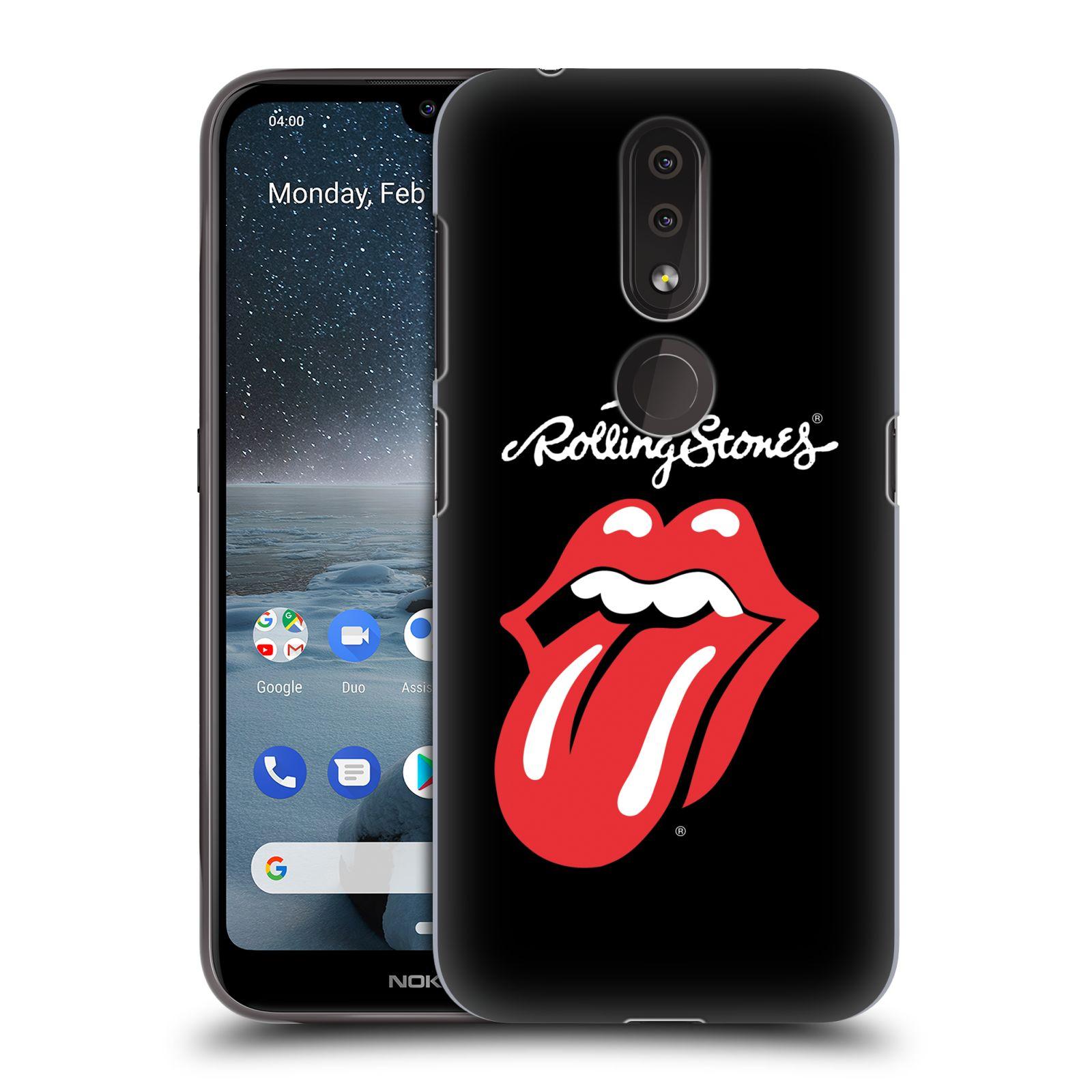 Plastové pouzdro na mobil Nokia 4.2 - Head Case - The Rolling Stones - Classic Lick